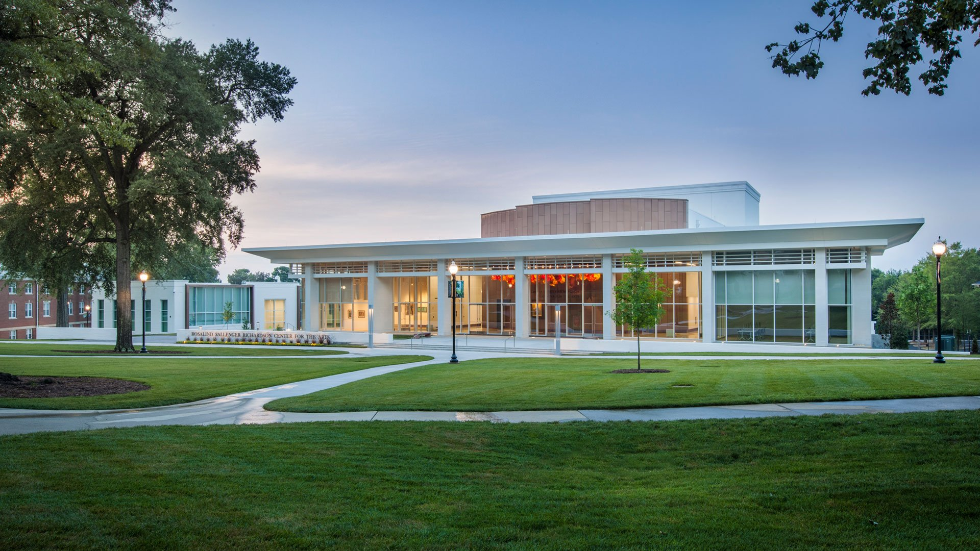 Rosalind S. Richardson Center for the Arts at Wofford College in the Spotlight