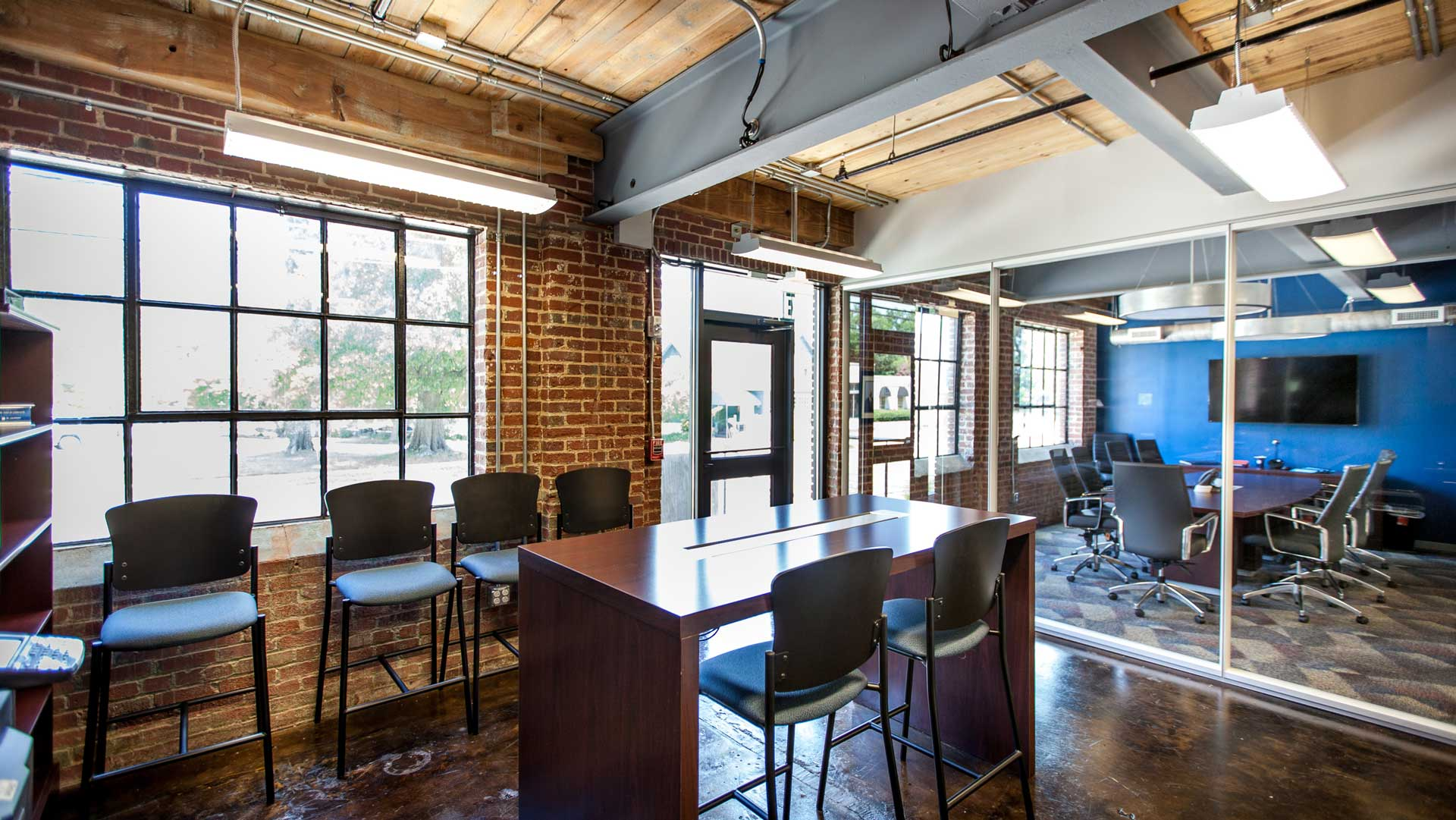 Claussen Bakery, Adapative Reuse, Office Tenant Space Ground Floor