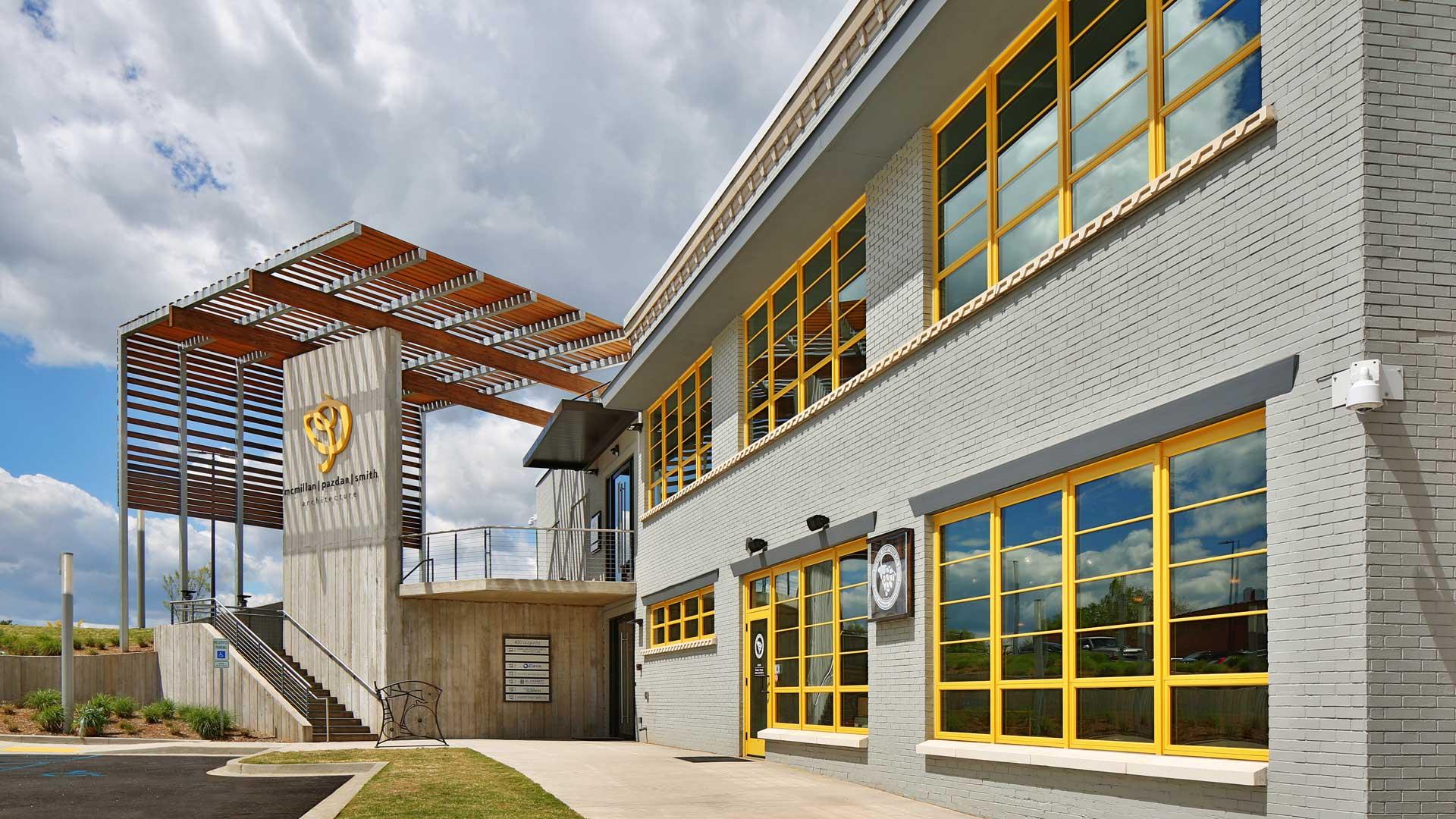 Claussen Bakery, Adapative Reuse, Exterior
