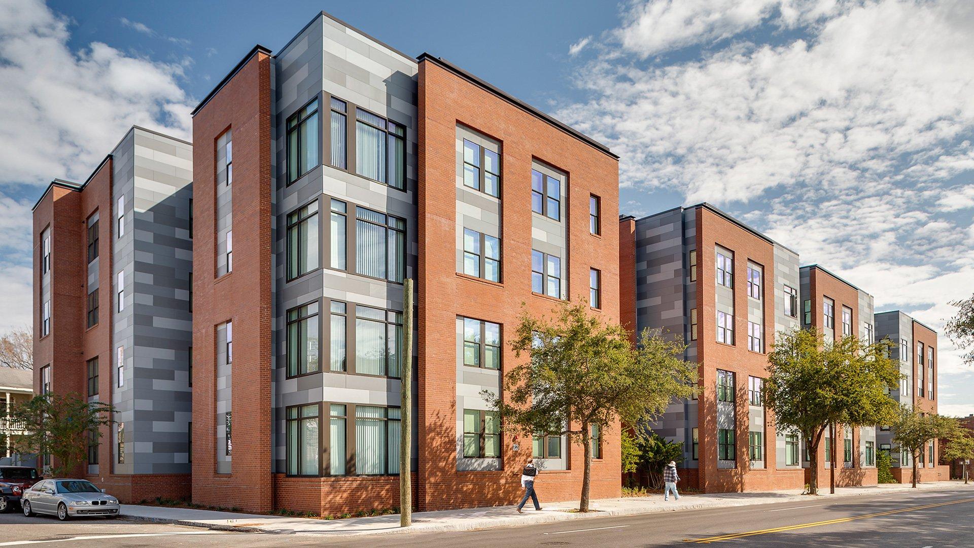 400 Meetin Street Student Housing, Exterior