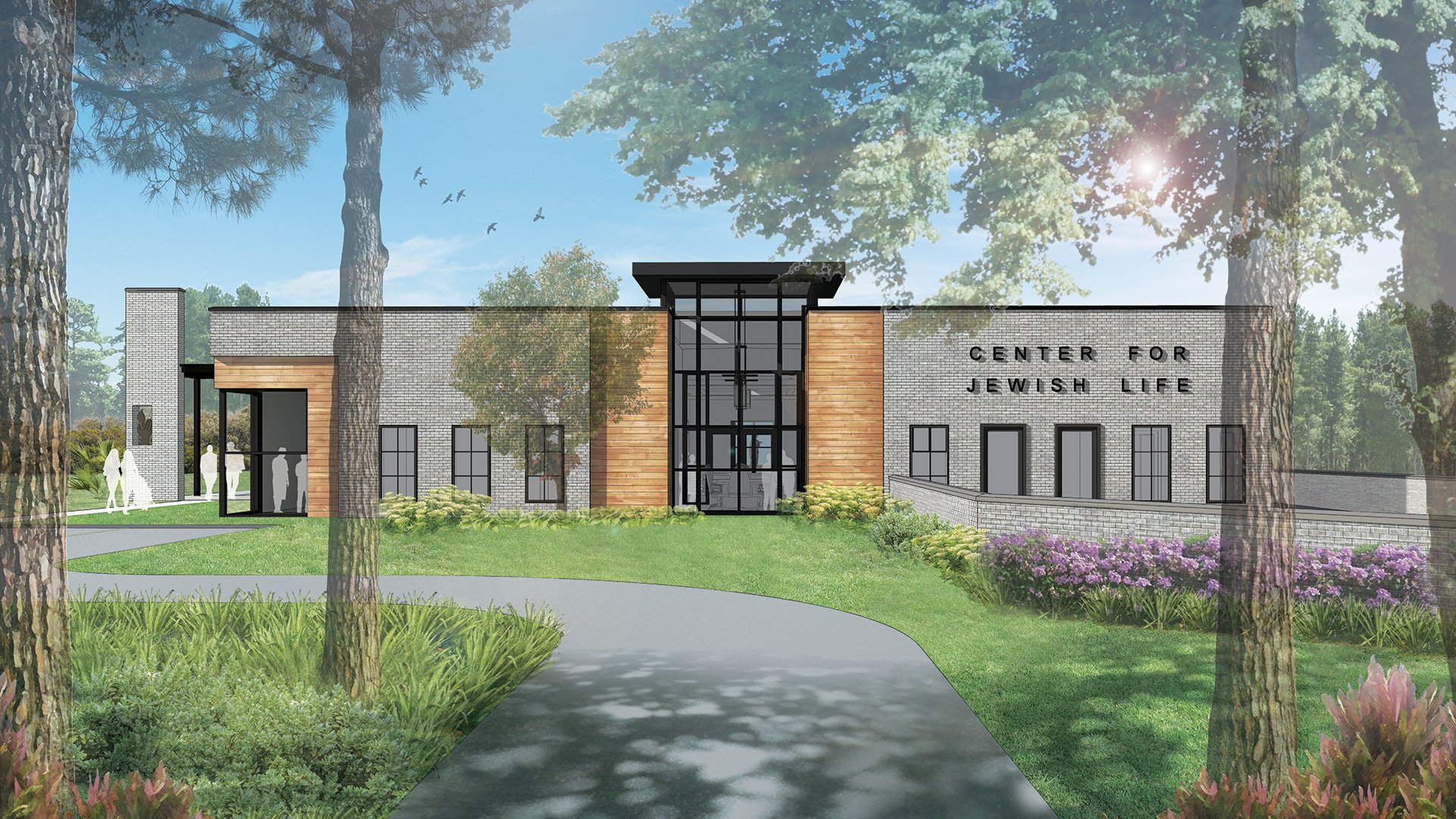 Chabad of Charleston, Entry Rendering