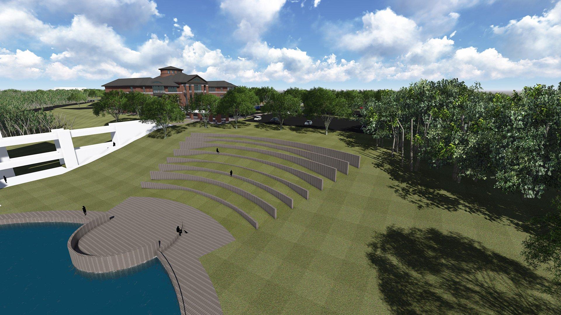 FDTC Amphitheatre rendering