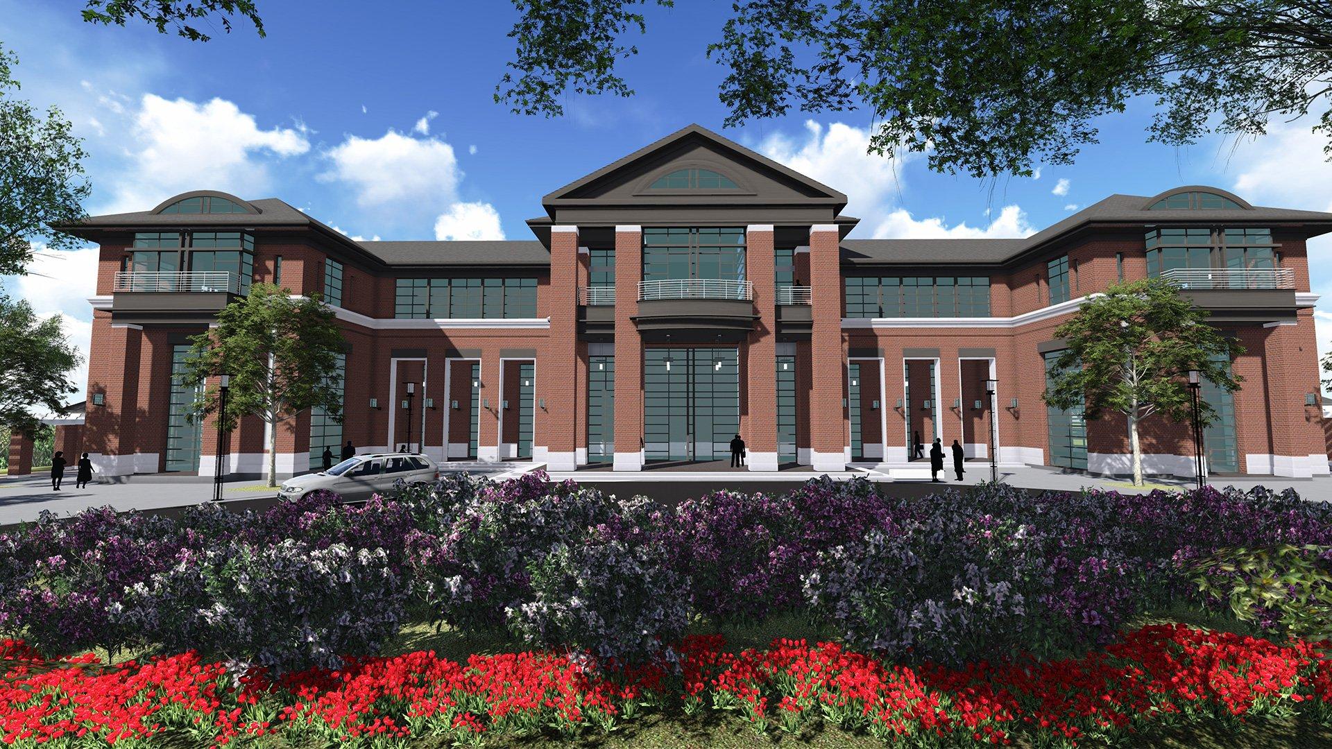 FDTC, new academic building rendering