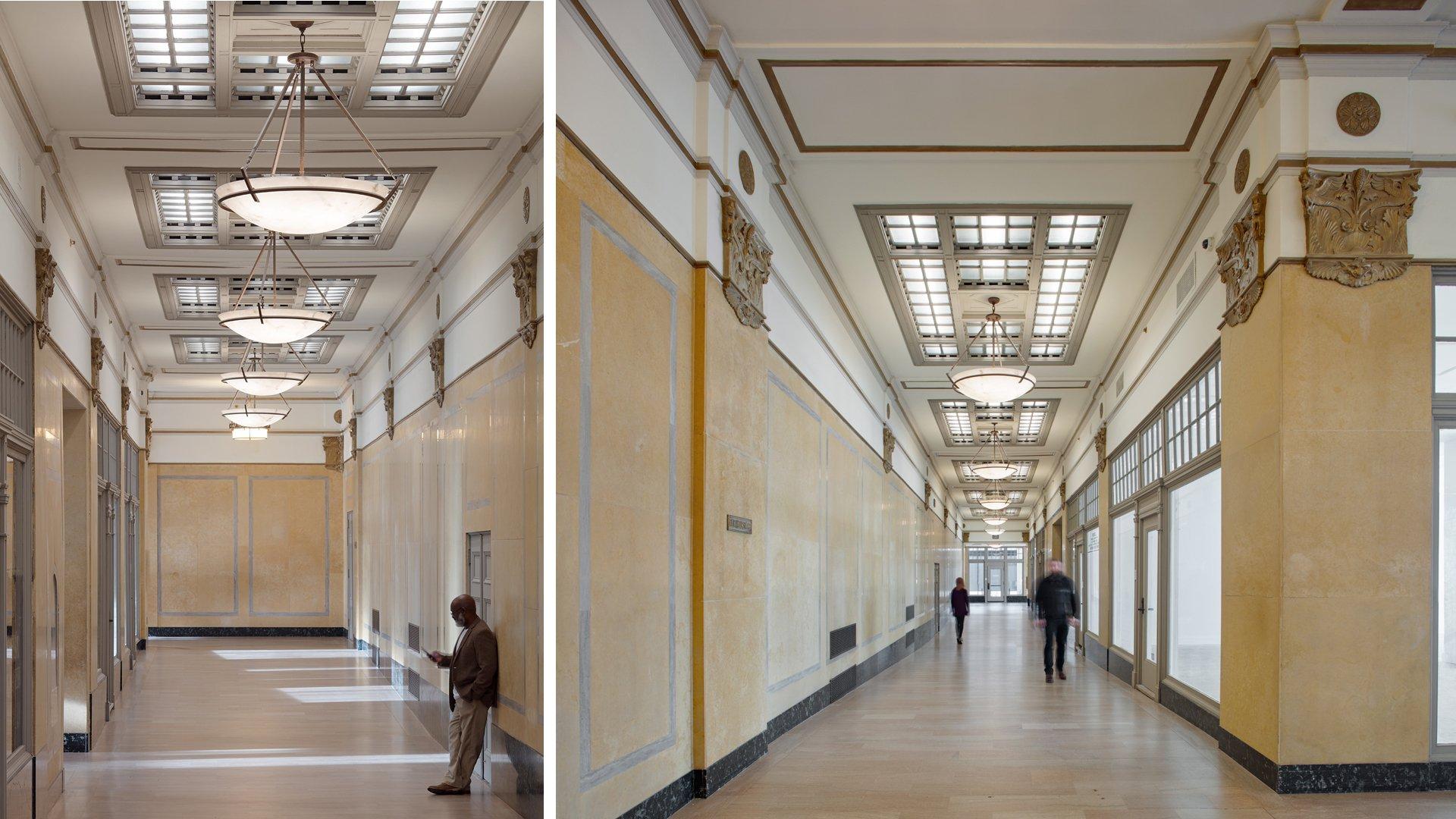 Montgomery Building, Interiors