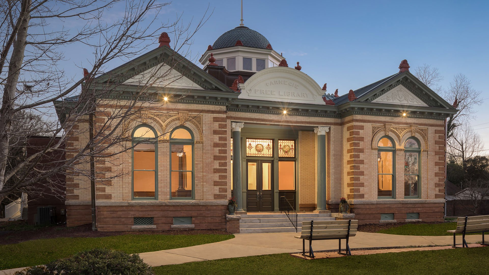 Union County Carnegie Library included in the 2020 Library Design Showcase
