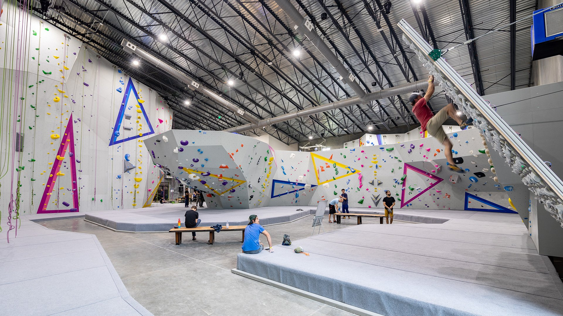 The Riveter in Asheville Receives Best Climbing Gym Award