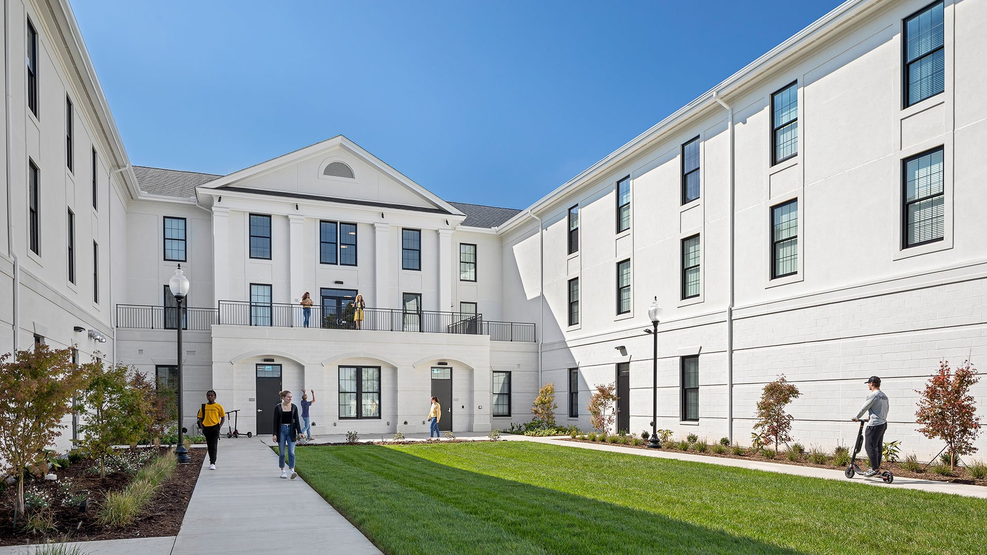 Jerome Johnson Richardson Hall at Wofford Receives Excellence Award