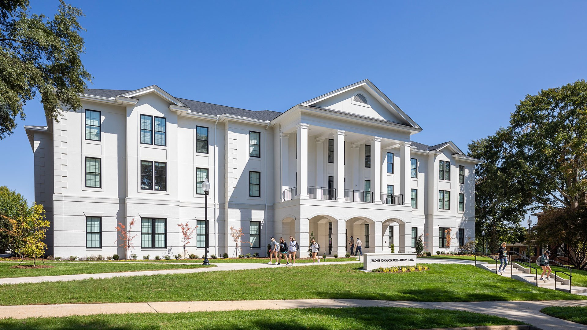 Wofford College, Jerome Johnson Richardson Hall, front exterior
