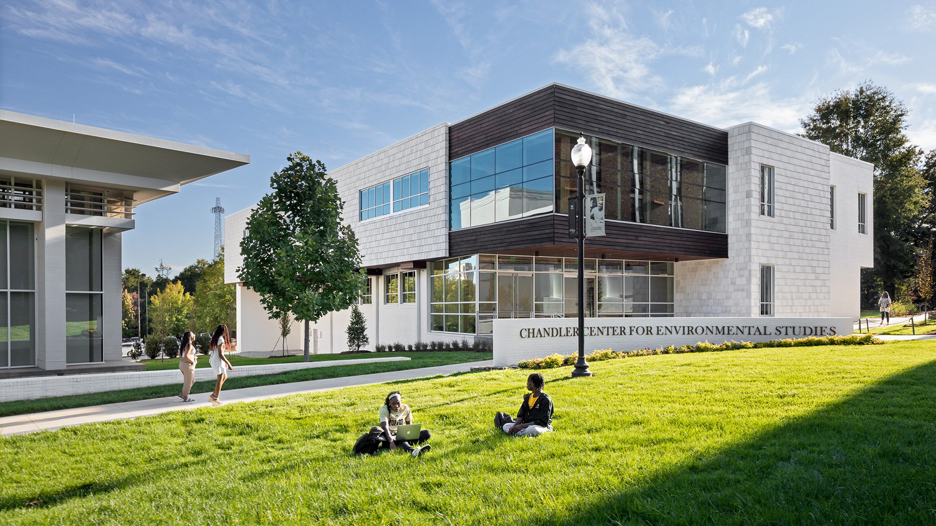 Chandler Environmental Center Dedicated to Longtime Wofford College Supporters