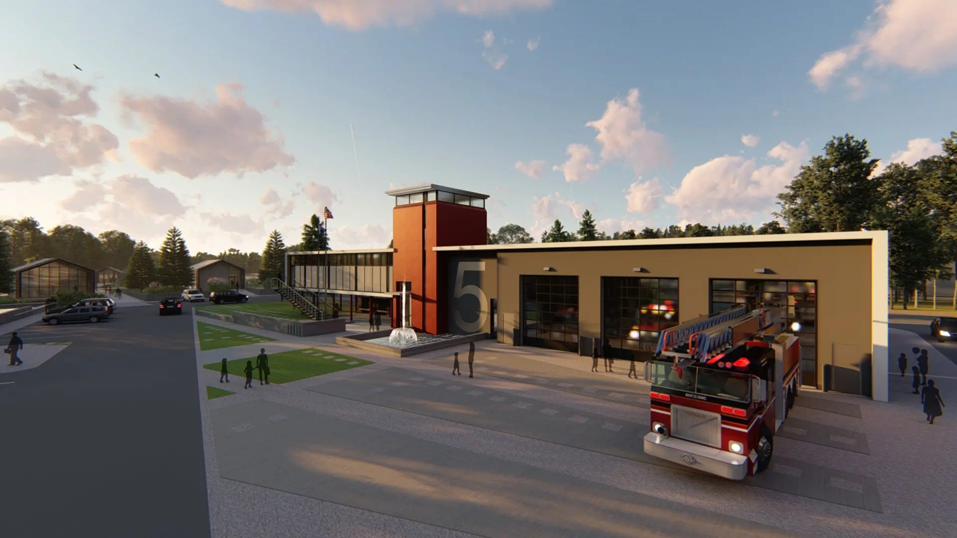 COVID-19 Sparks Innovative Designs for 'Ideal' Fire Station