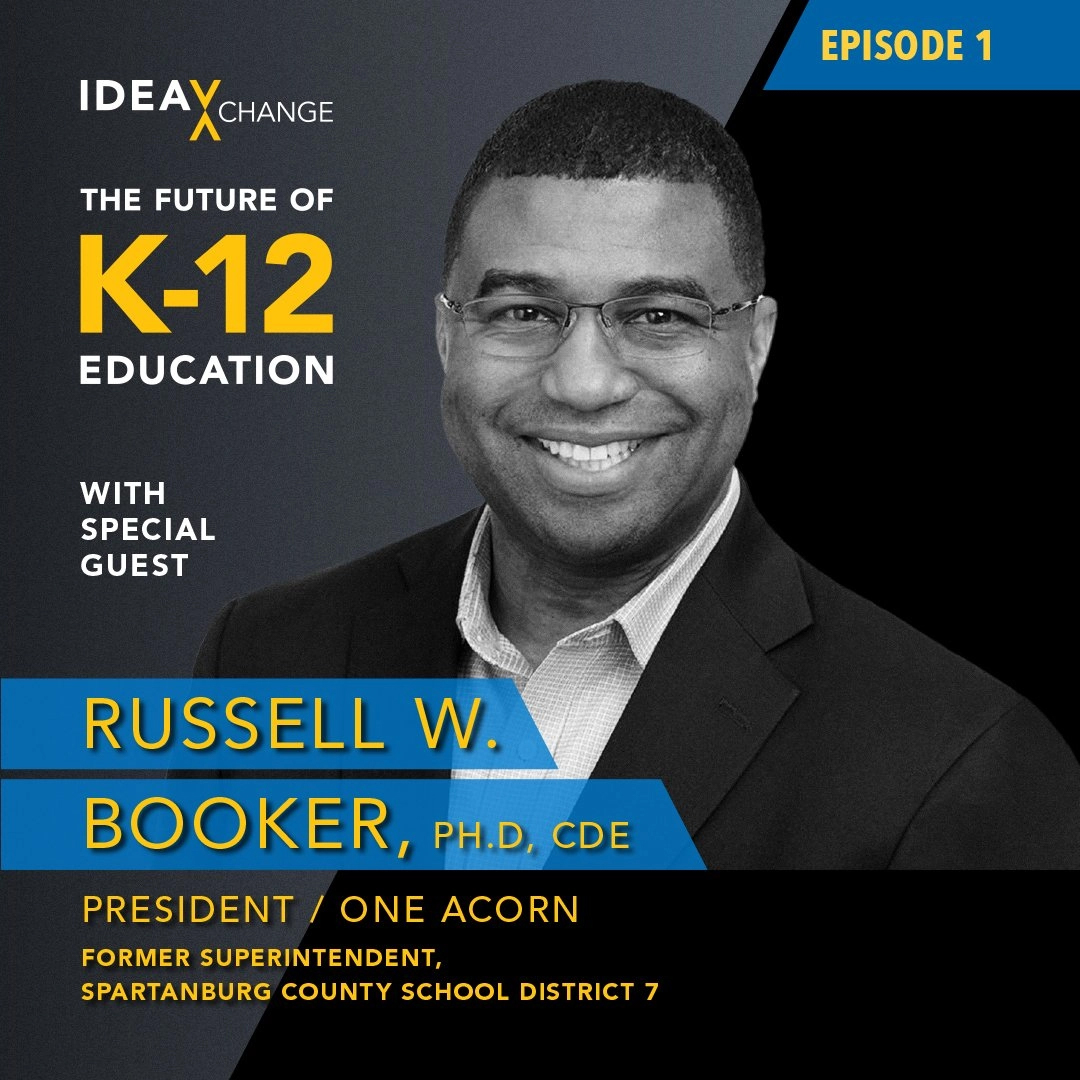 K12 Podcast Guest: Dr. Russell Booker