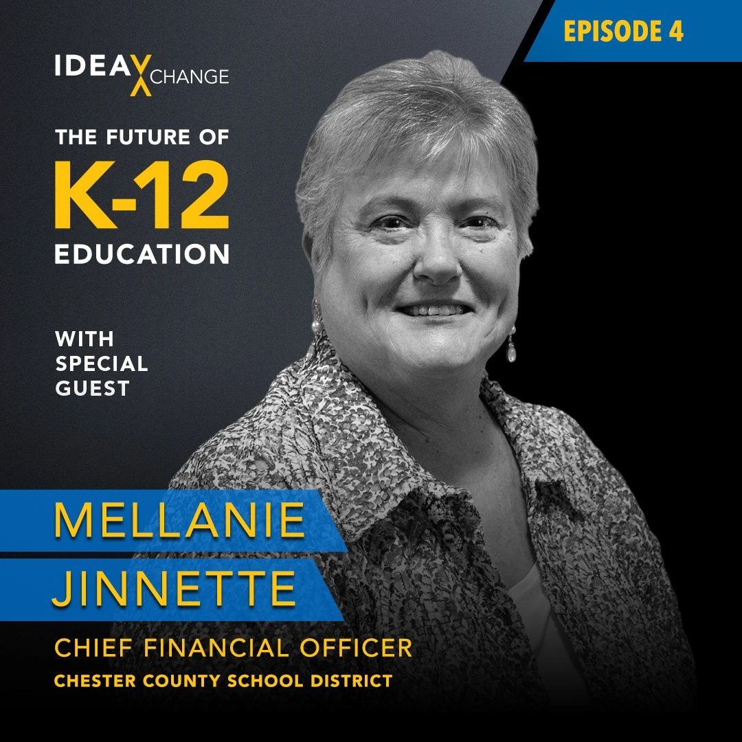 K-12 Podcast Episode 4 Guest pictured: Mellanie Jinnette