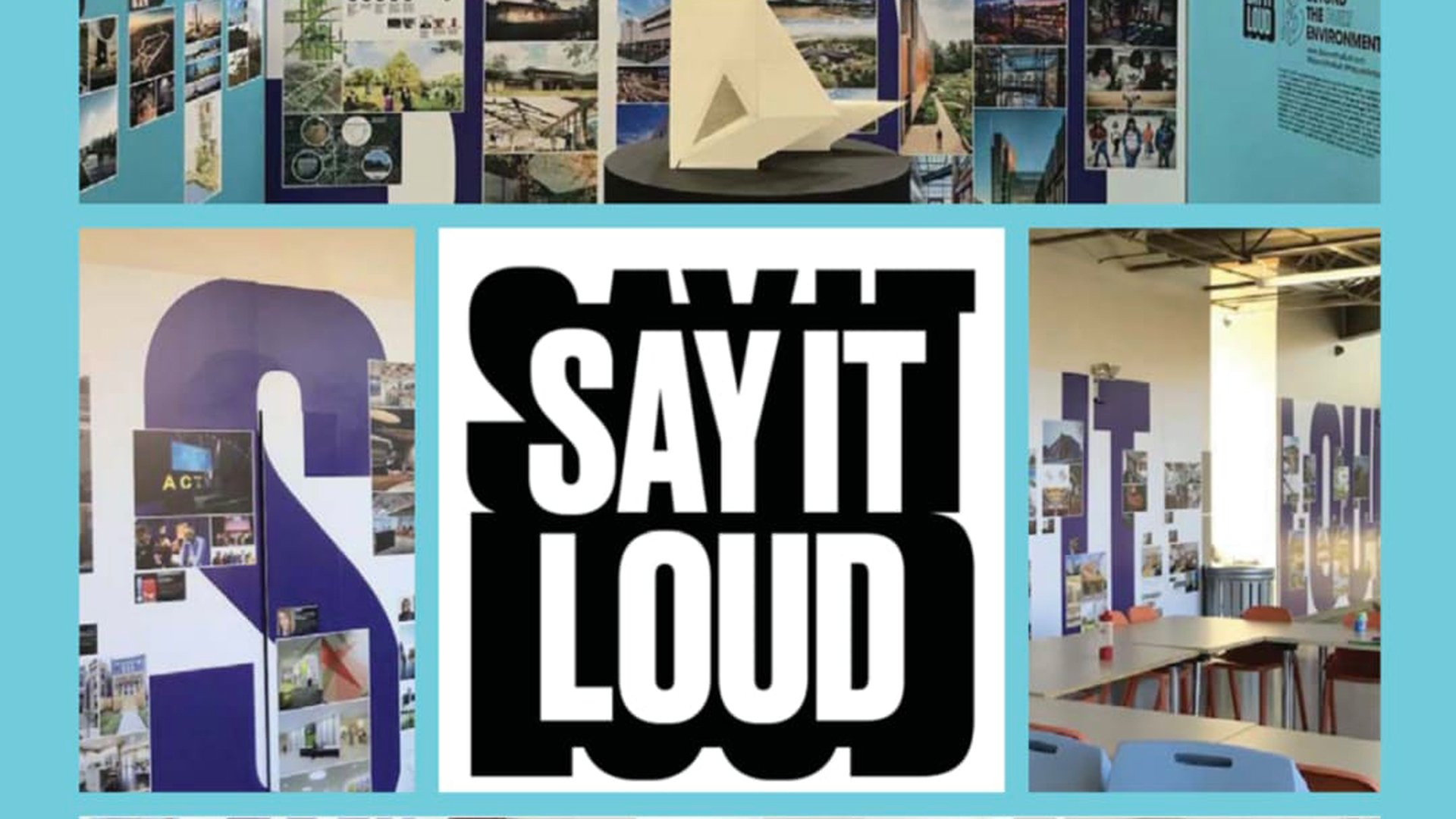 MPS Sponsors Internationally-recognized SAY IT LOUD exhibition this Month