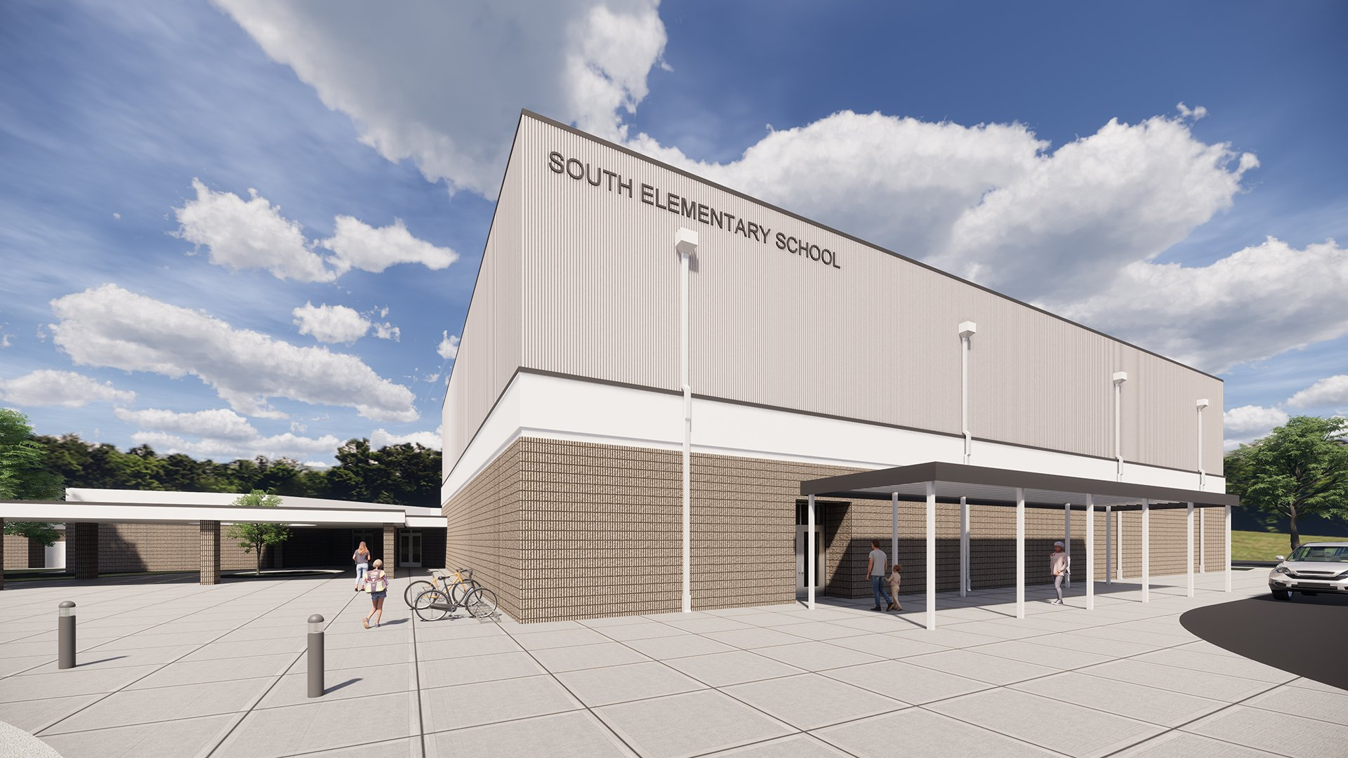 Two Elementary Schools in Mooresville Hold Groundbreaking to Start Renovations