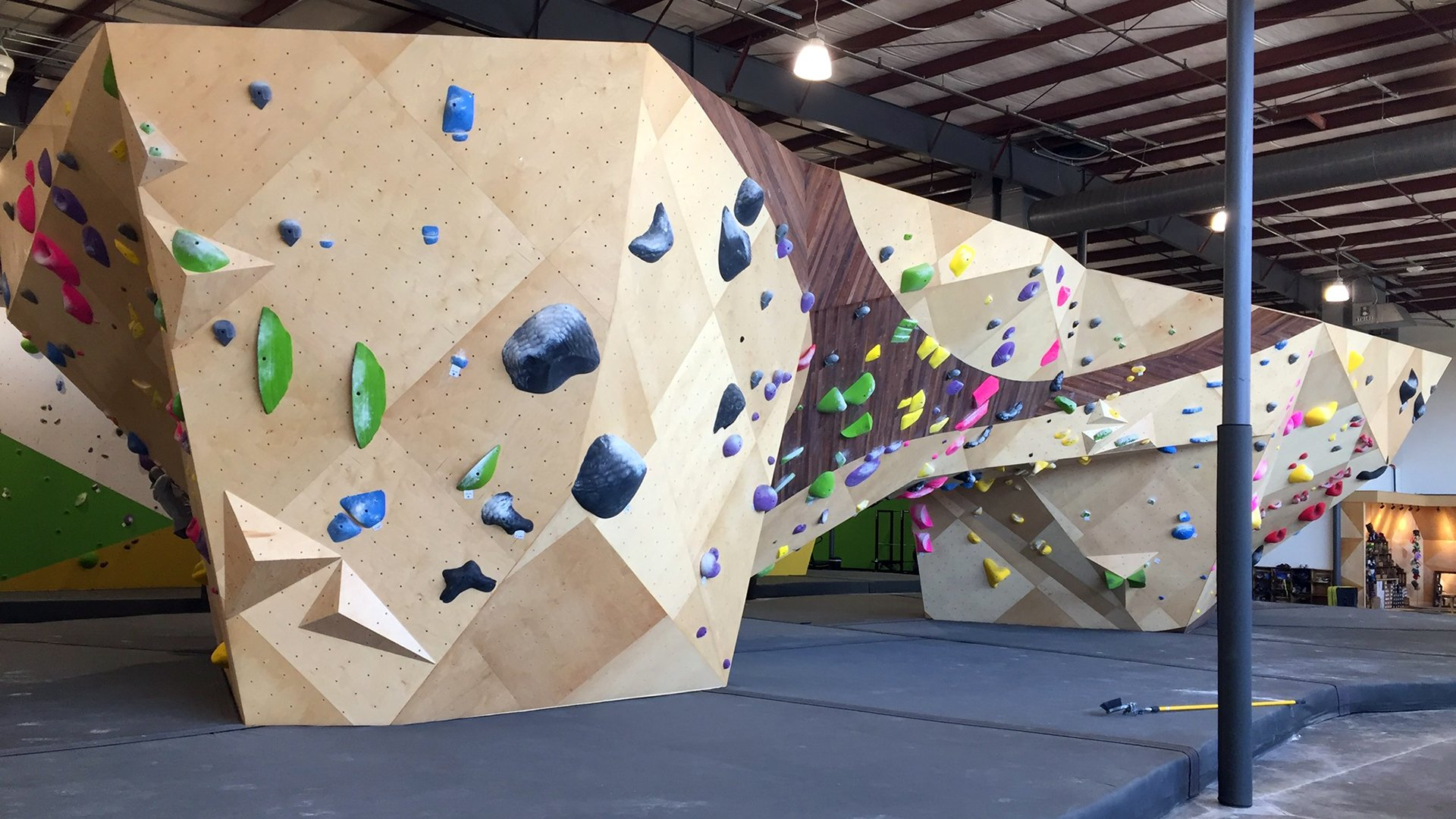 Greenville's Newest Climbing Gym Opens at Judson Mill