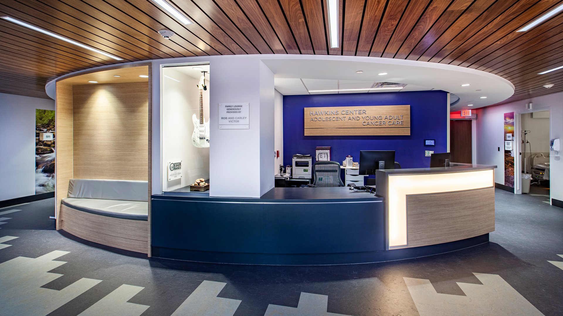 Bon Secours St. Francis, Hawkins Center, Adolescent & Young Adult Cancer Care