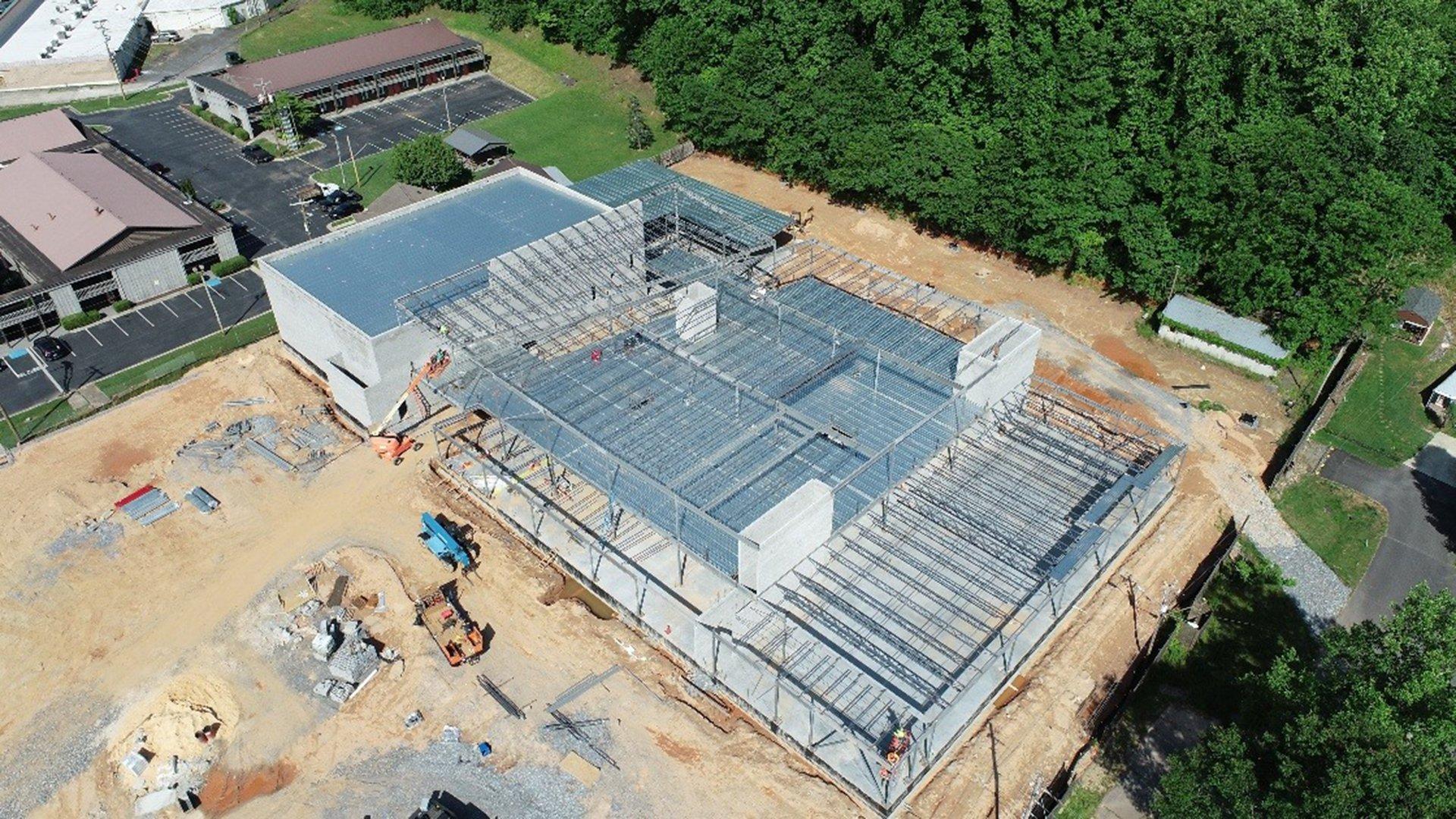 Cherokee Youth Center Construction Underway, Making Progress