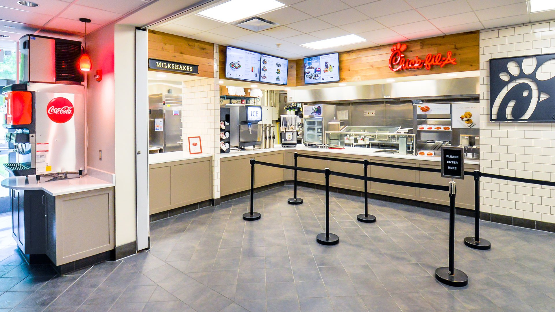 Chick-fil-A, Licensed Locations