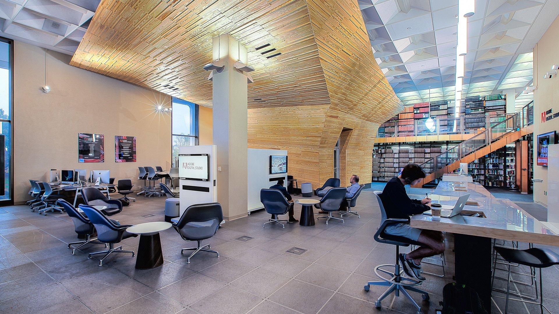 Clemson University, RM Cooper Library, Adobe Digital Studio