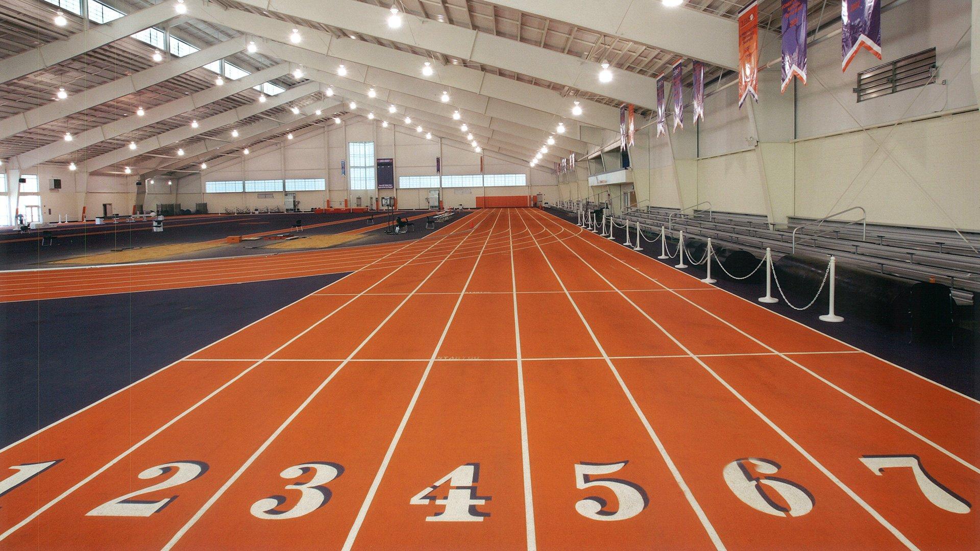 Clemson University, Indoor Track Facility