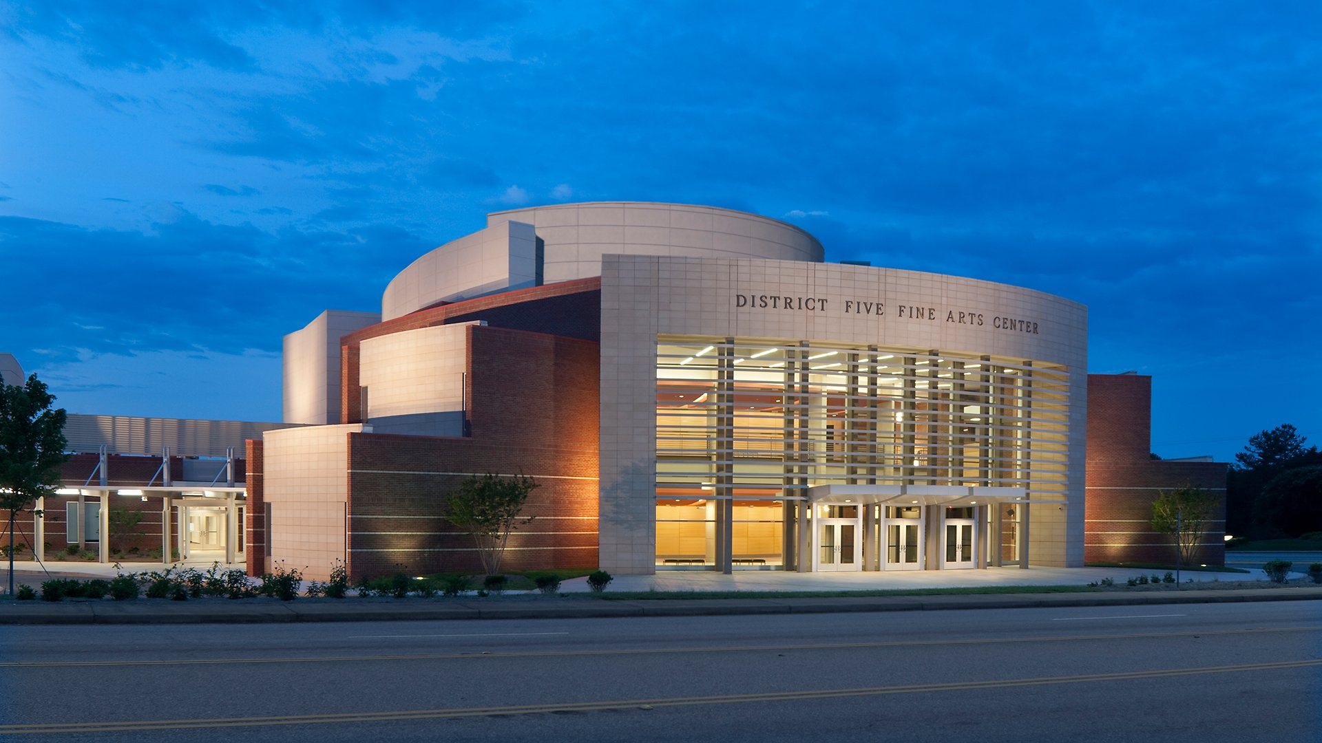 District Five Fine Arts Center, Spartanburg School District 5