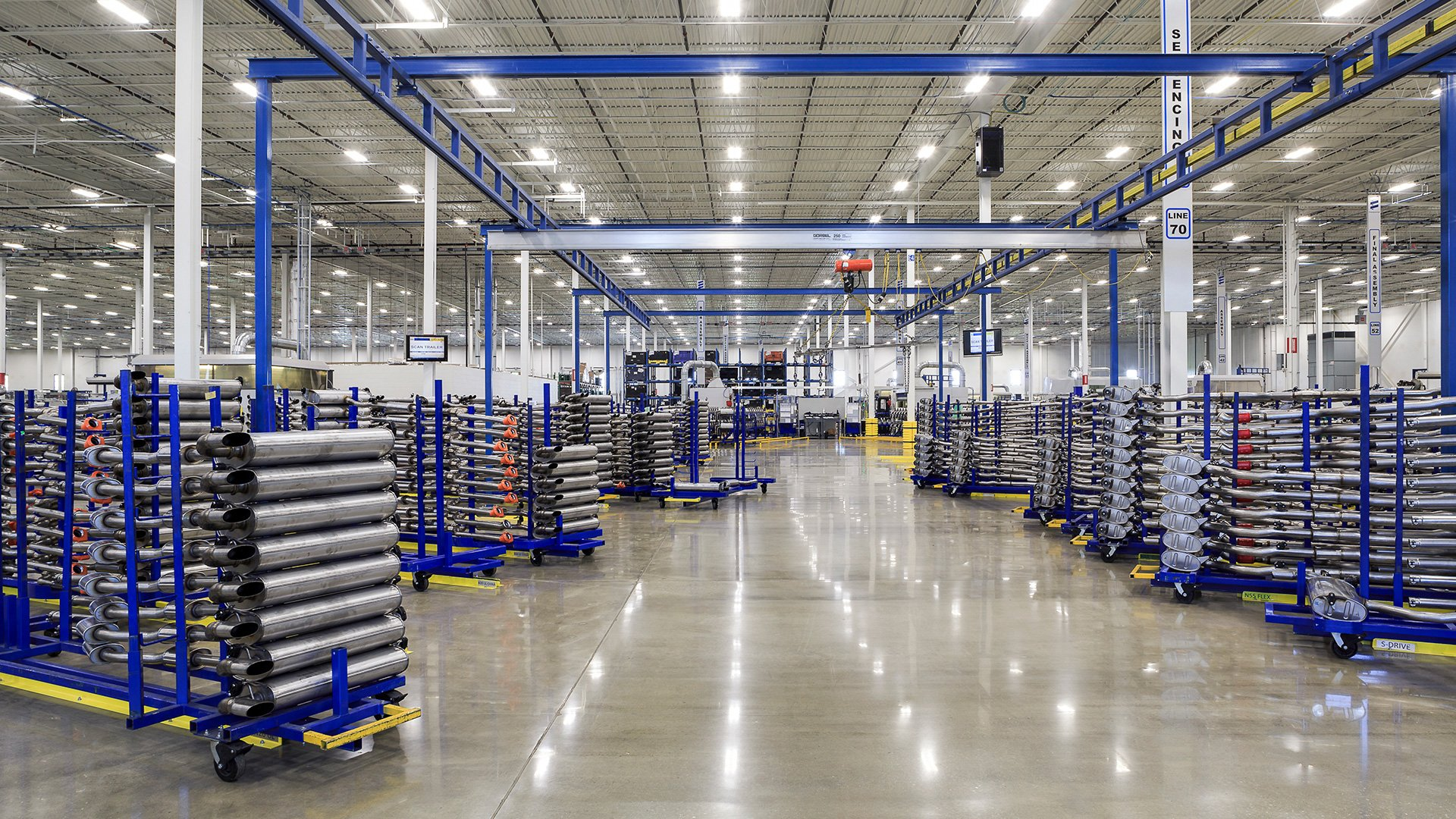 Eberspaecher Automotive, Regional Manufacturing Warehouse