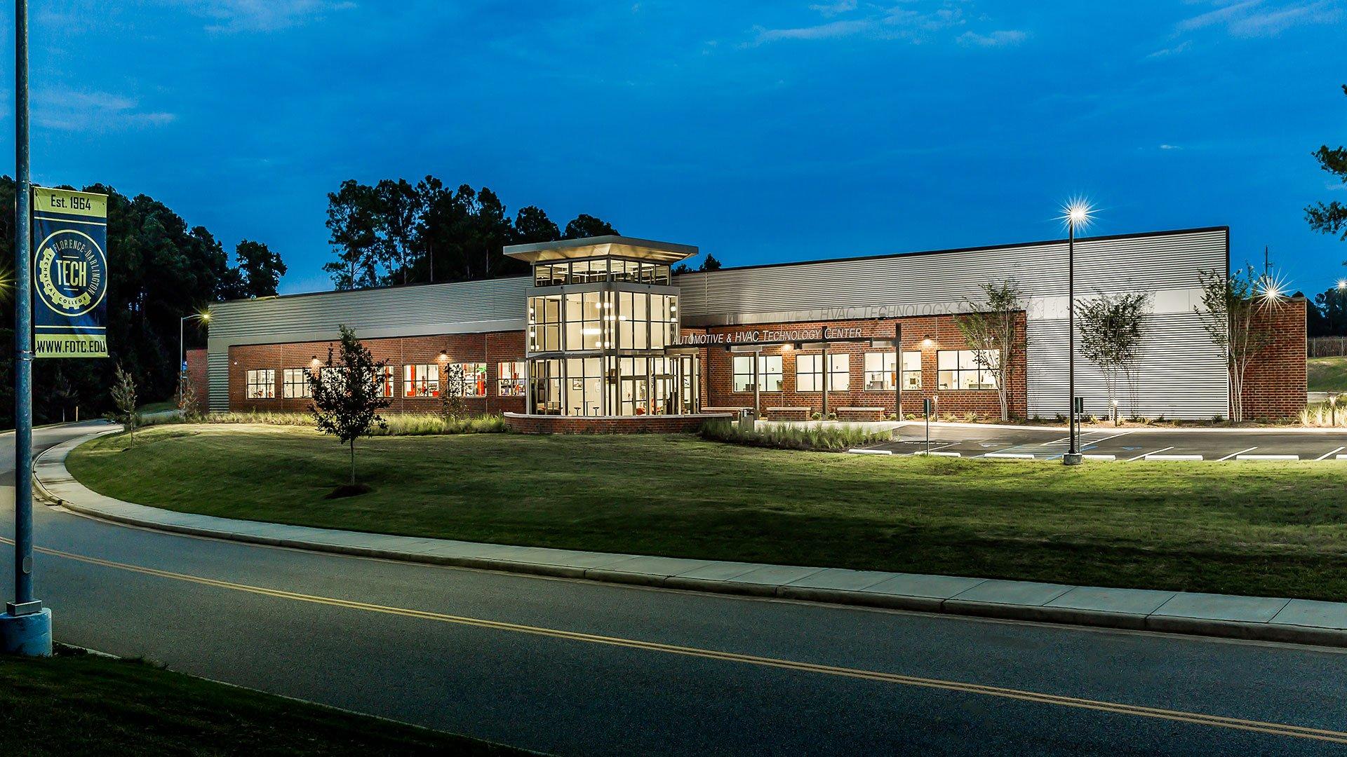 Florence-Darlington Technical College, Automotive and HVAC Technology Center