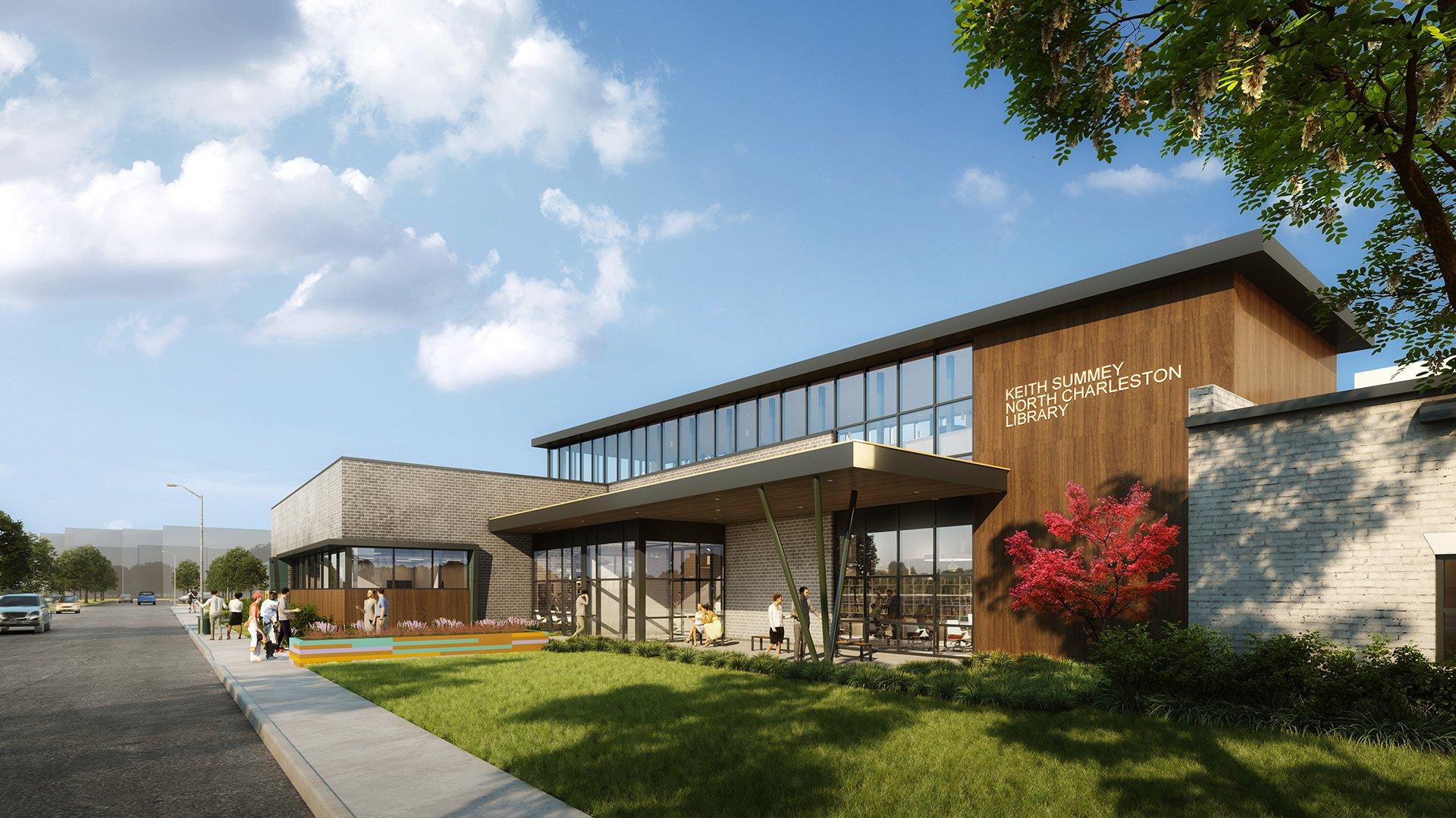 Keith Summey Library Breaks Ground in Charleston