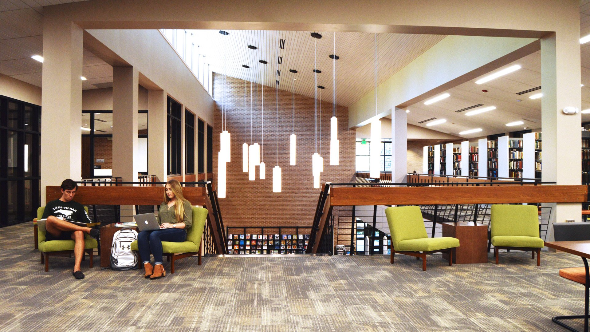 Lees-McRae College, Dotti M. Shelton Learning Commons