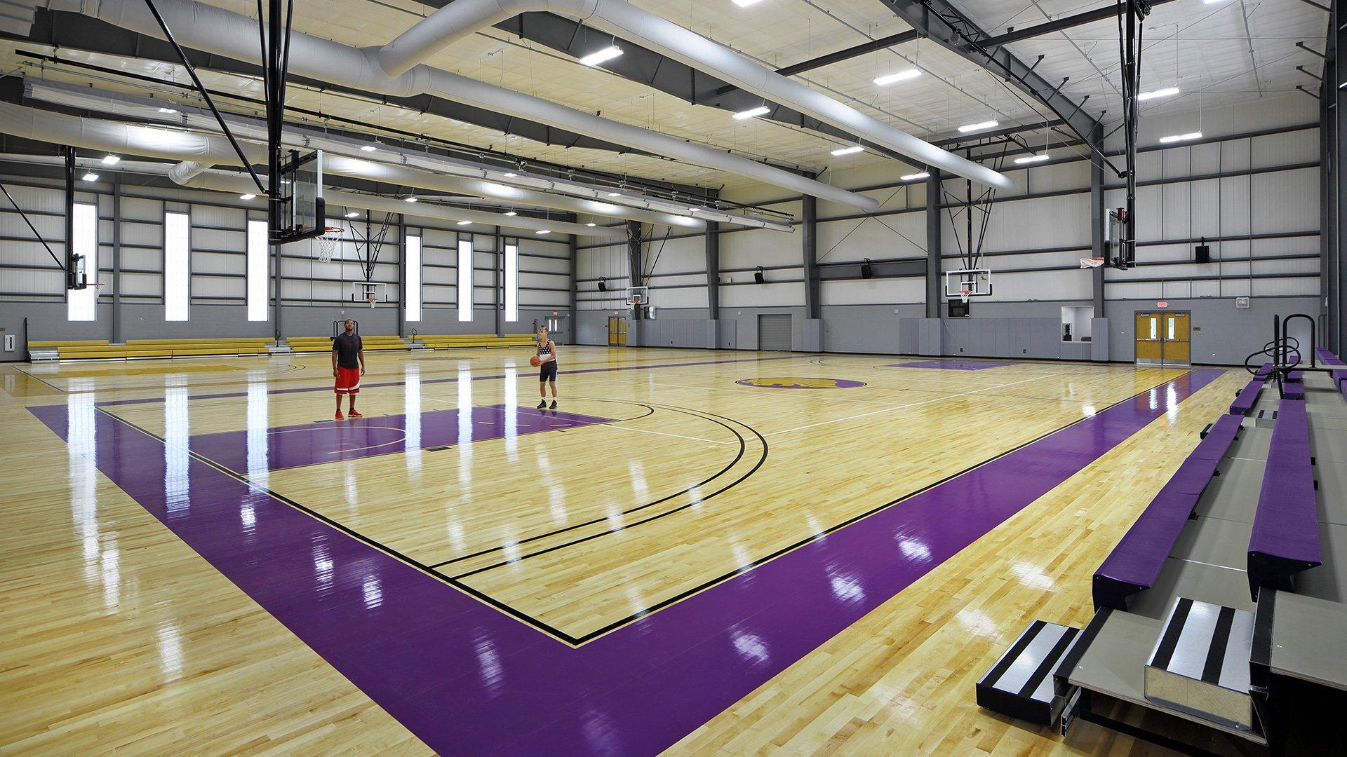 Legacy Charter School, Gymnasium + Masterplan