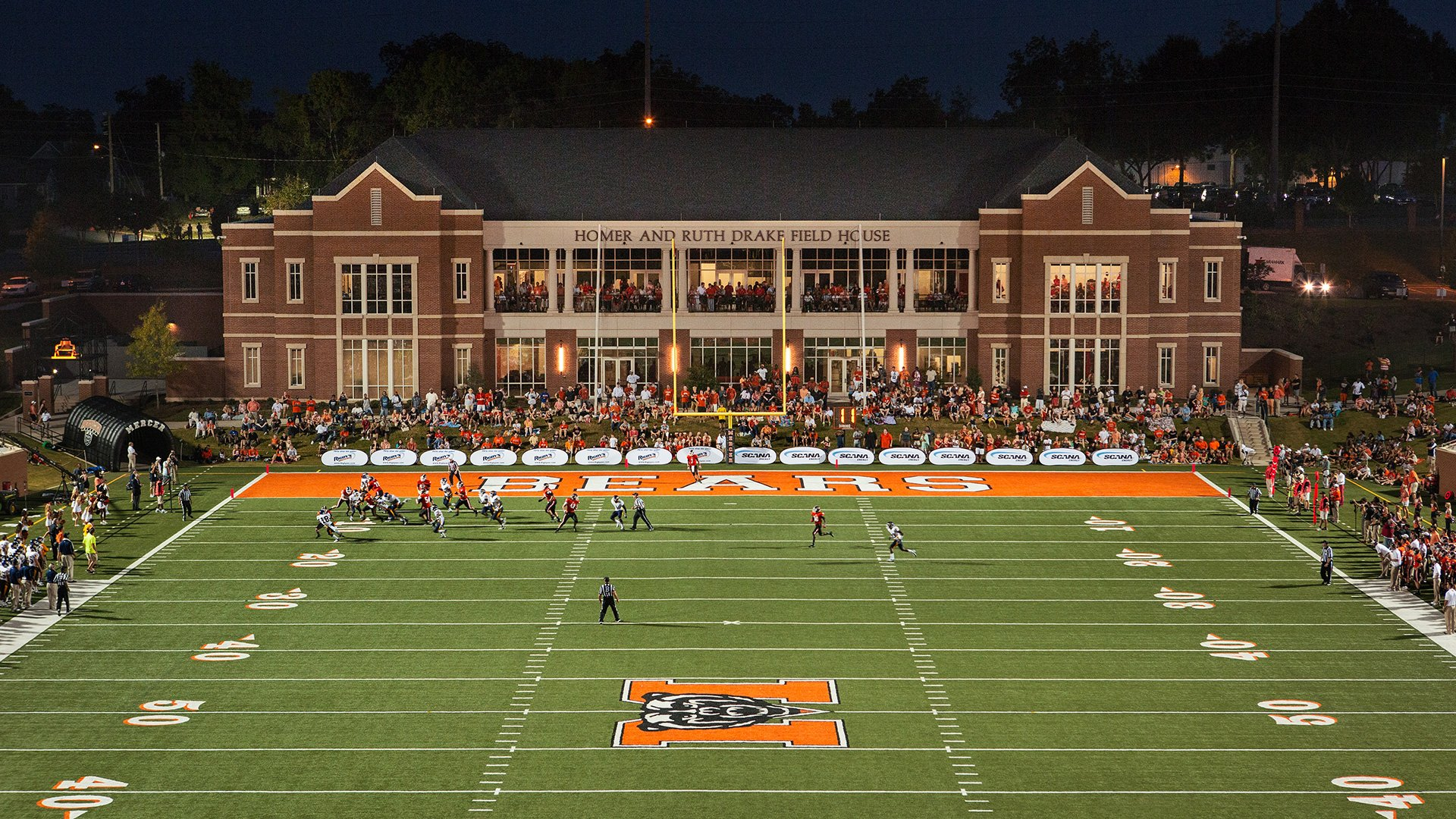 Mercer University, Football Stadium and Field House