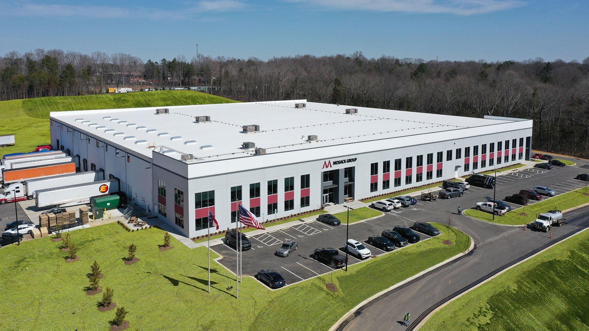 Mosack Group, Logistics + Manufacturing Warehouse