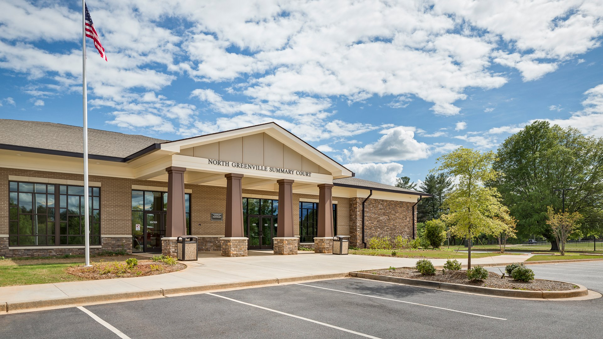 North Greenville Summary Court, Travelers Rest