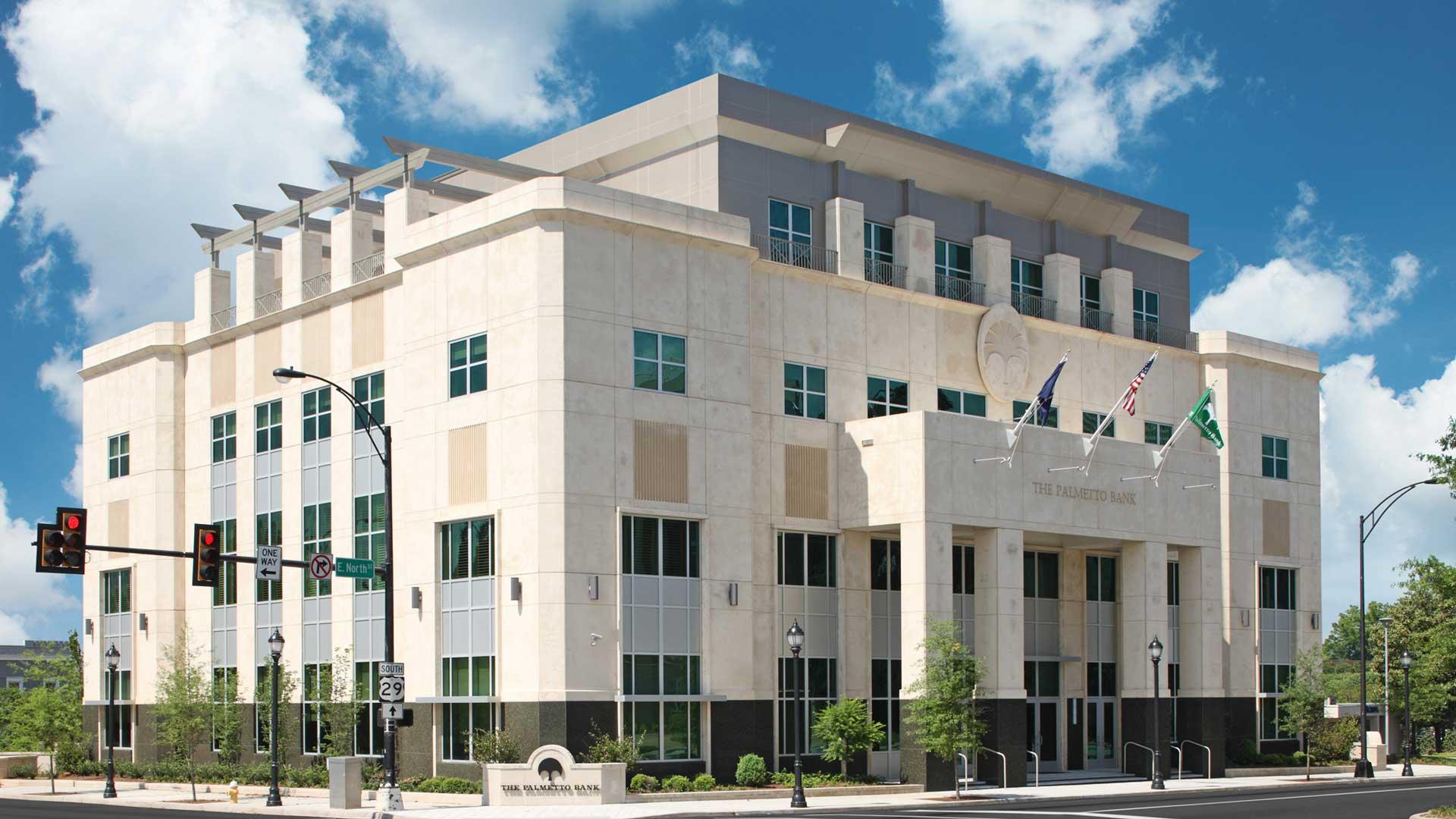 Palmetto Bank / UCB, Corporate Headquarters