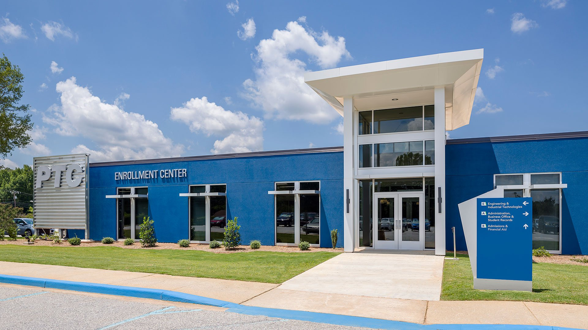 Piedmont Technical College, Admissions and Business Affairs