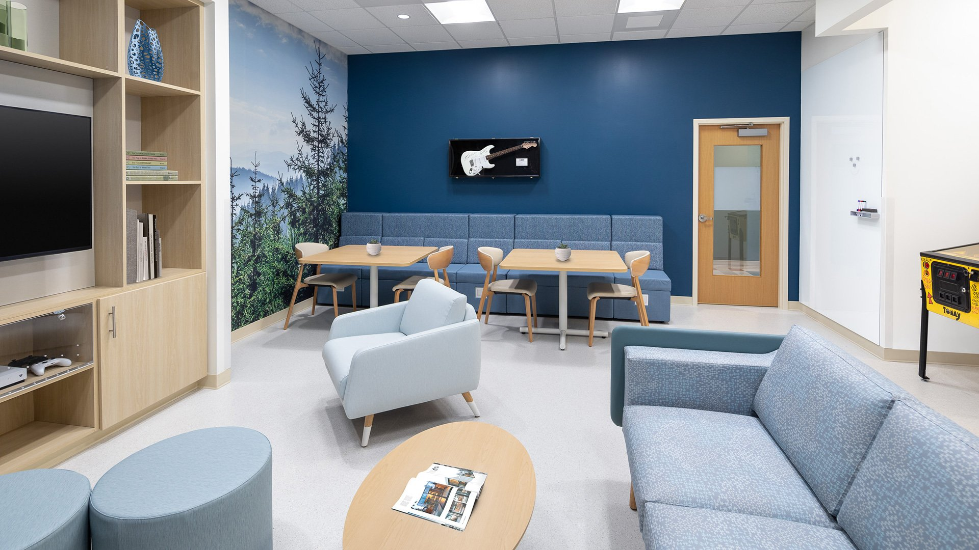 Prisma Health, Greer Cancer Institute, Adolescent & Young Adult Lounge
