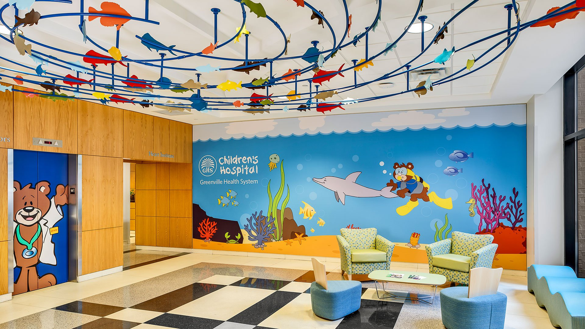 Prisma Health, Children's Hospital Lobby Renovation