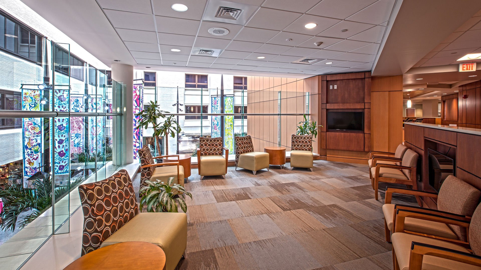 Prisma Health, Surgery Family Waiting Room