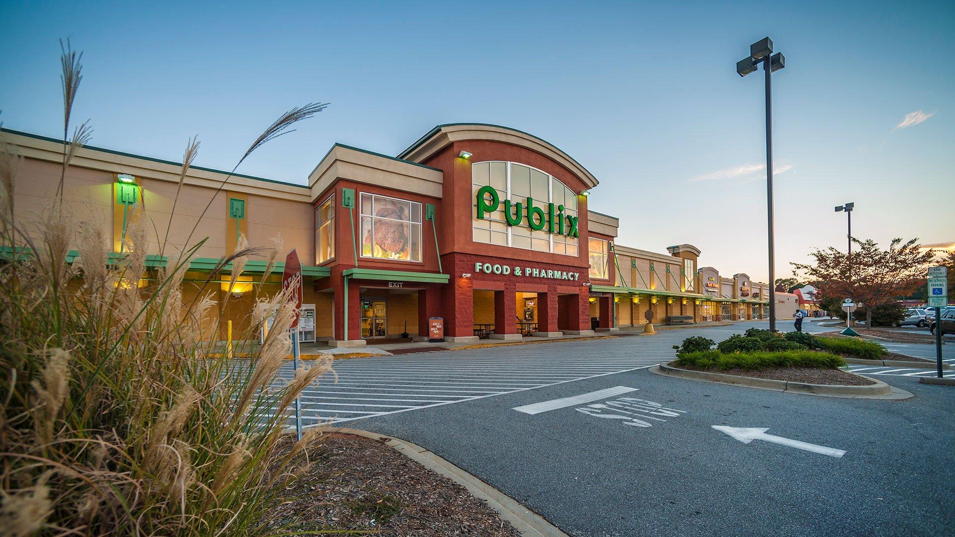 Publix Supermarket + Retail Shops