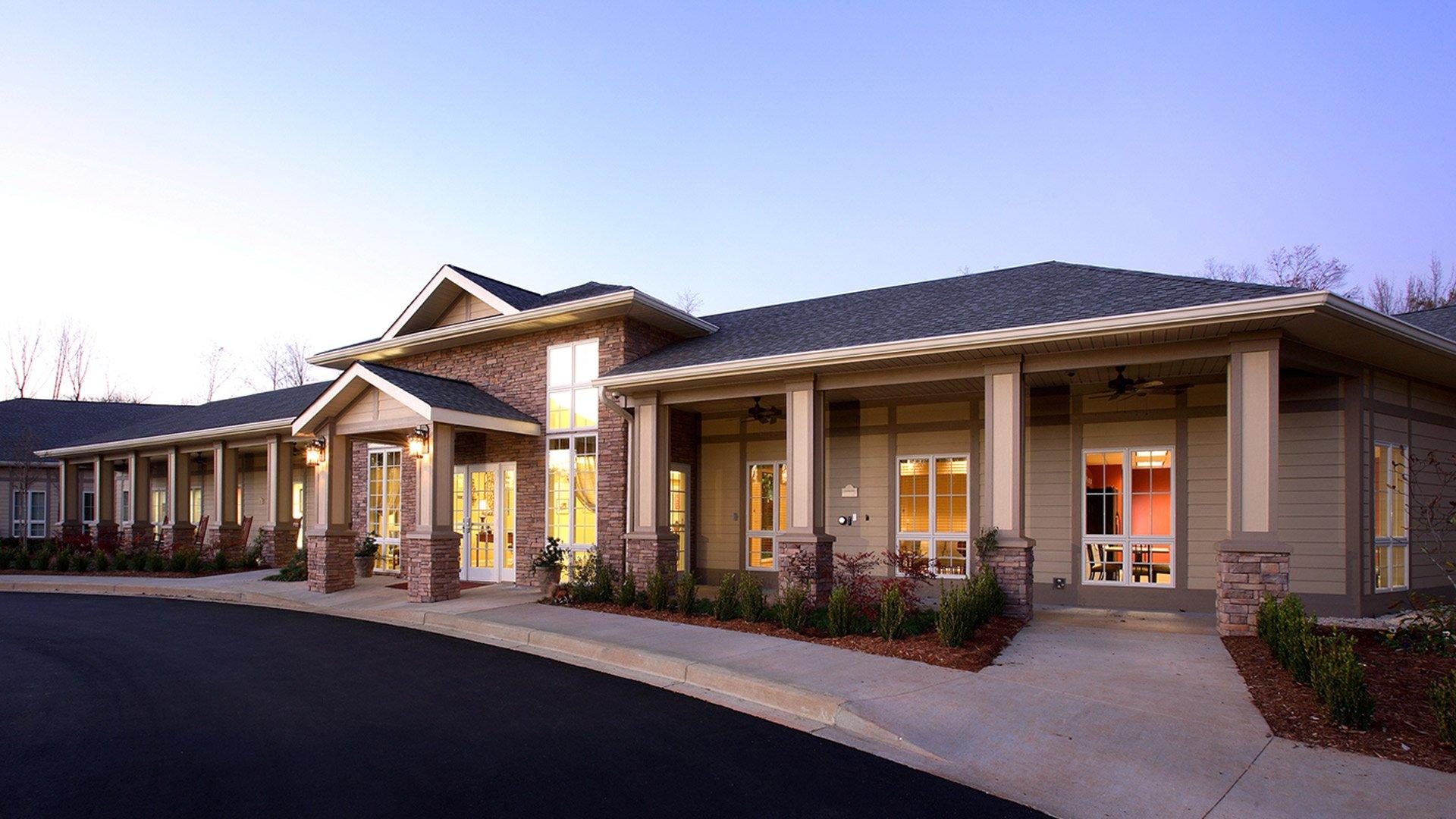 Spartanburg Regional Healthcare, Hospice Home