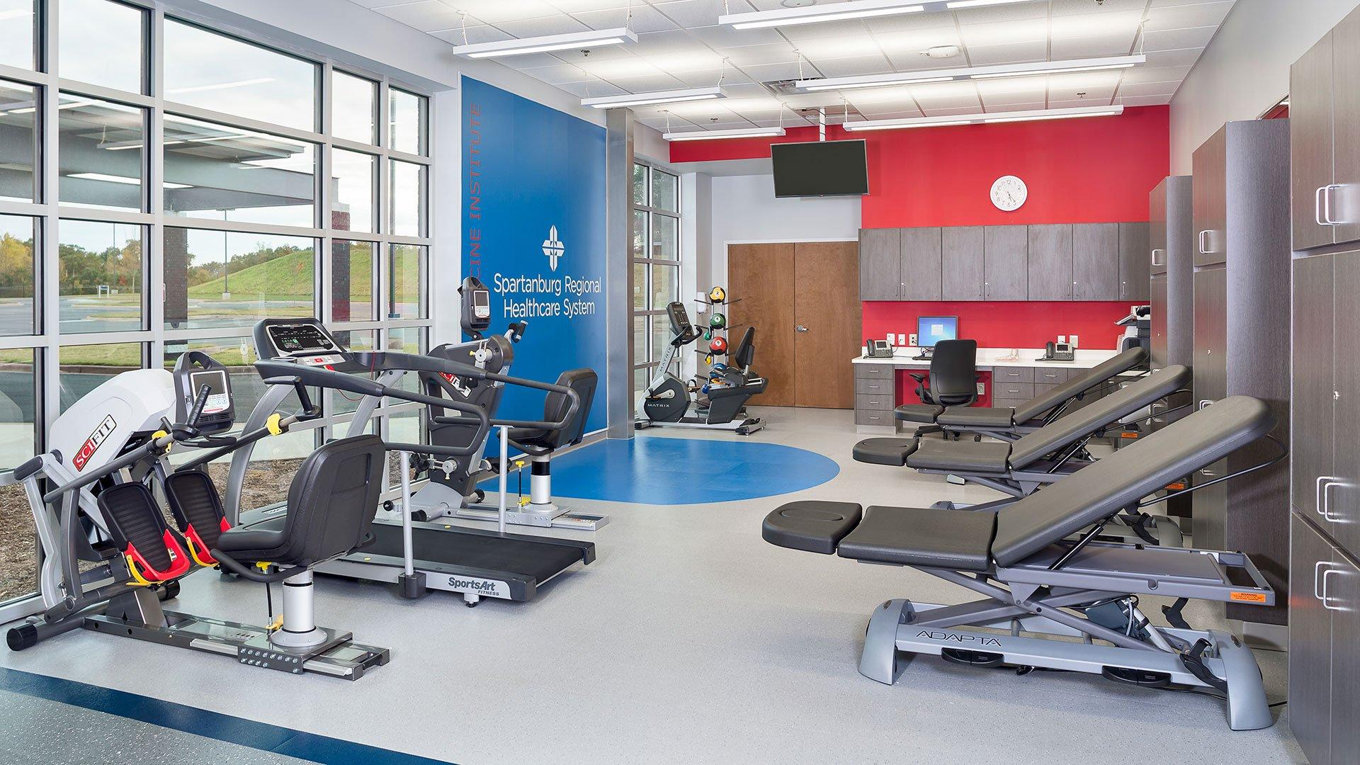 Spartanburg Regional Healthcare, Sports Medicine Institute at Upward Star Center