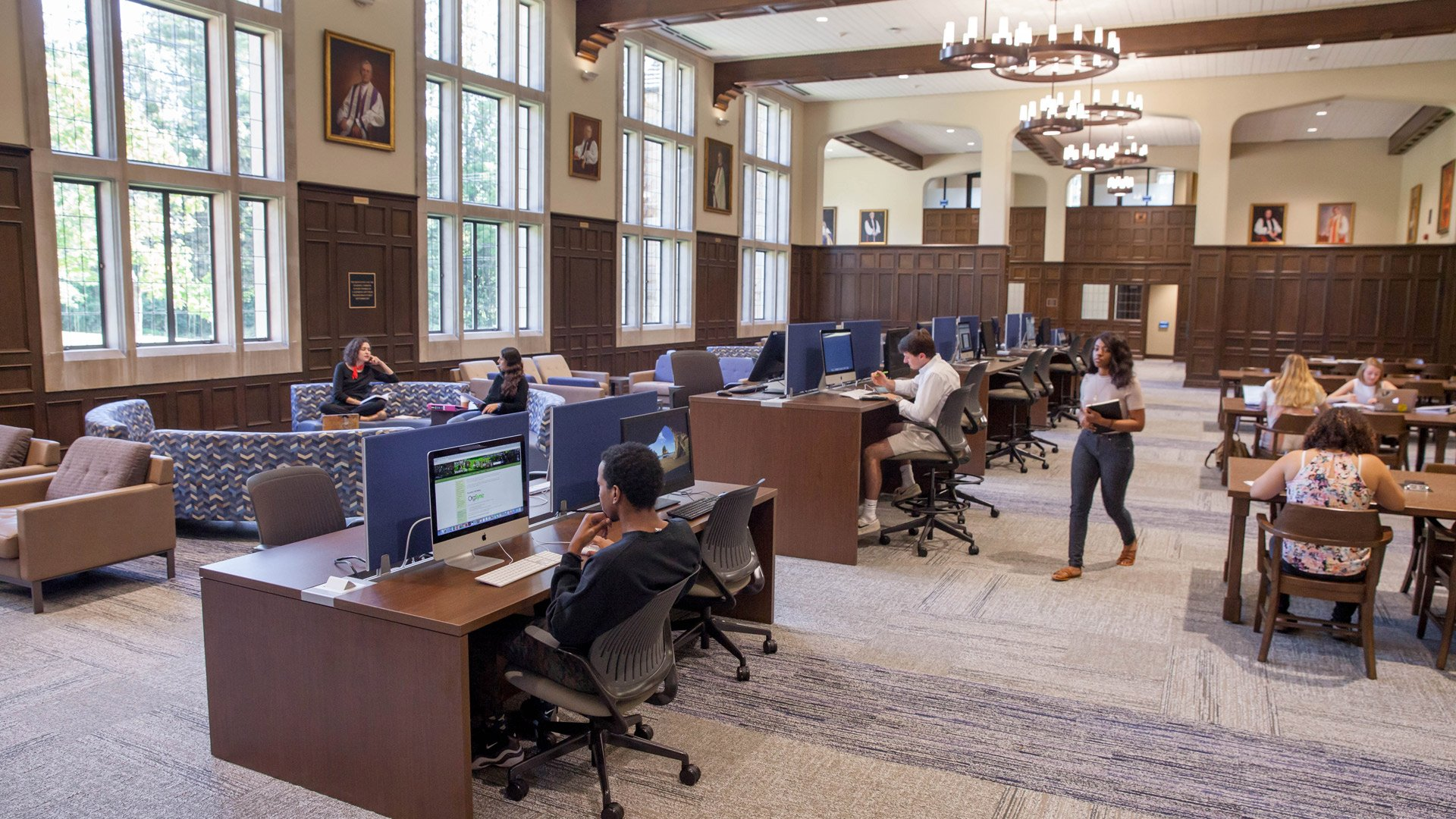 Sewanee / The University of the South, duPont Library
