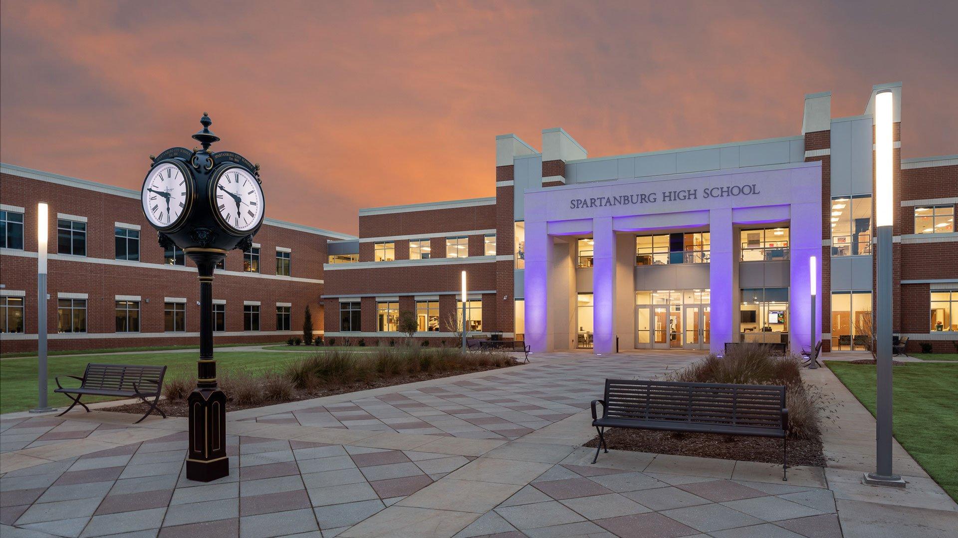 Spartanburg High School, Spartanburg School District 7