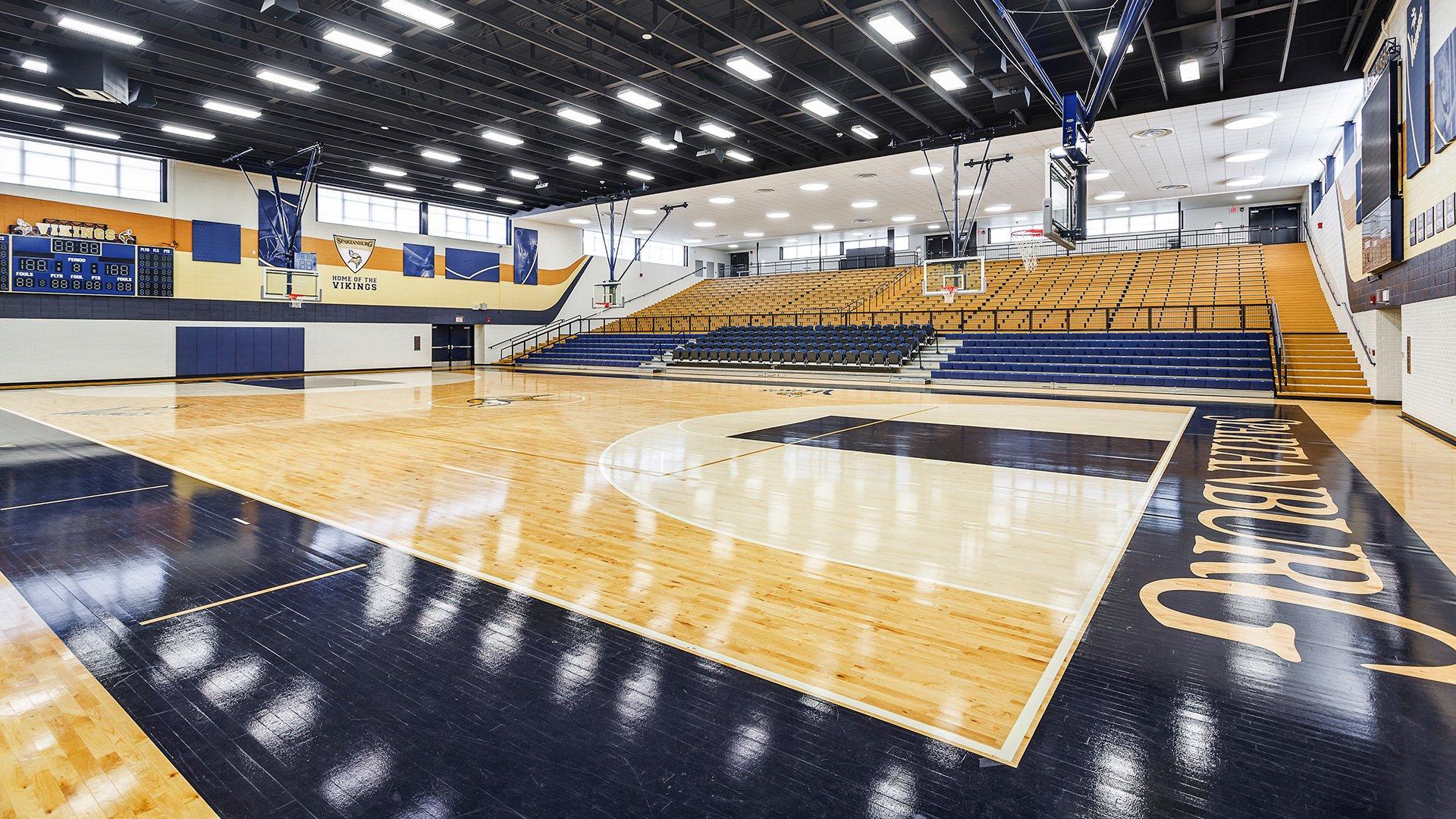 Spartanburg High School, Gymnasium, Spartanburg School District 7