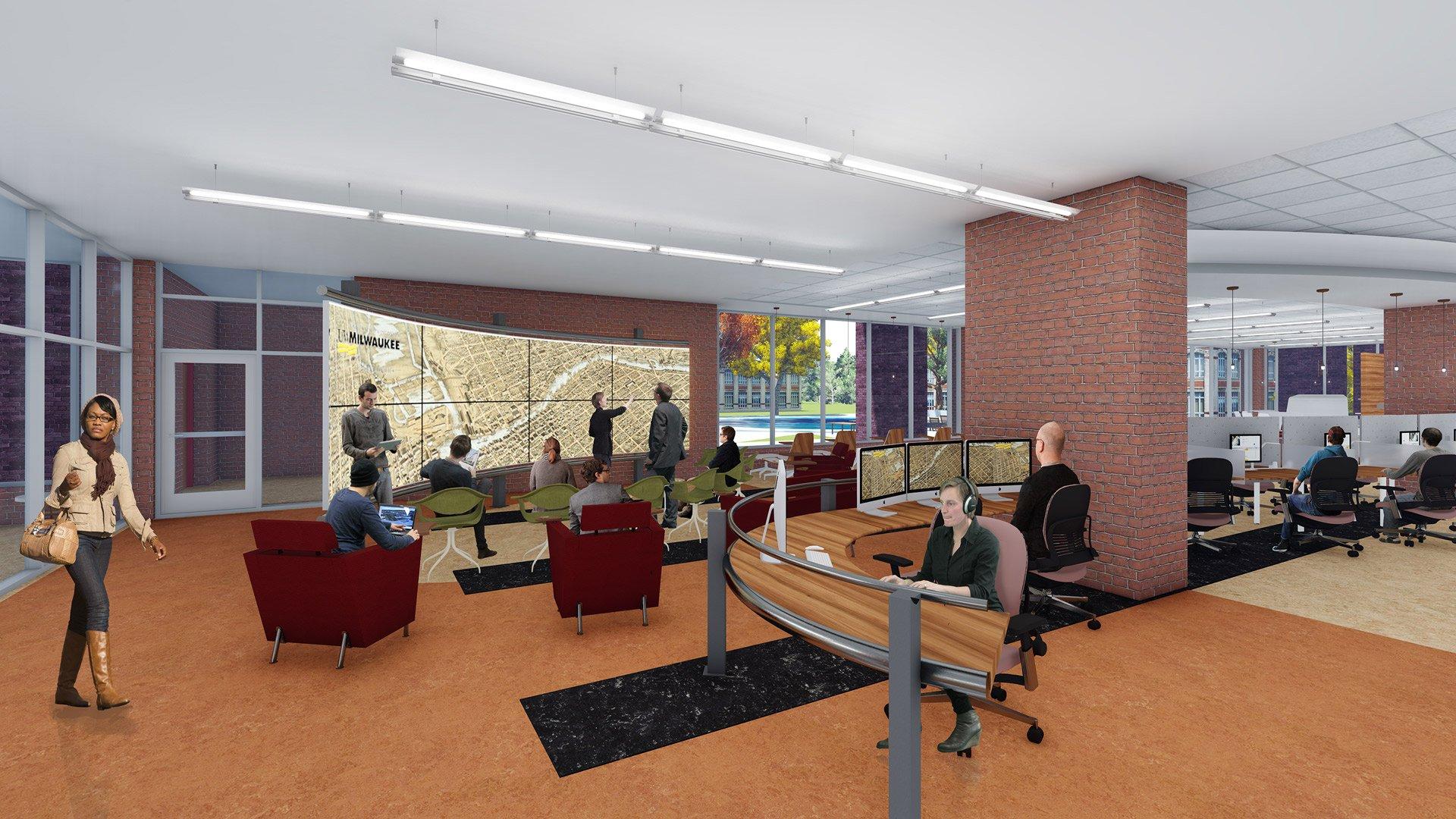 University of Wisconsin-Milwaukee, Golda Meir Library Master Plan