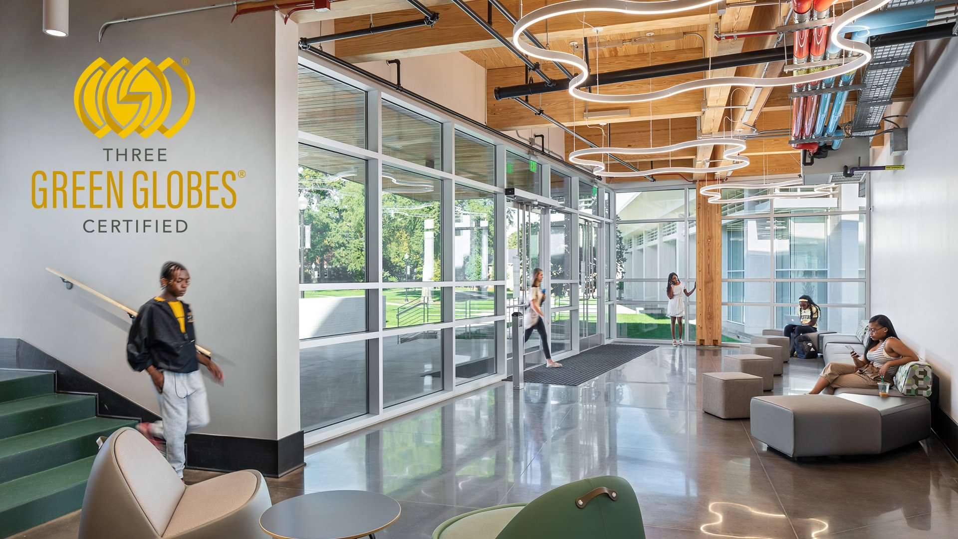 Green Building Initiative Profiles Wofford's Chandler Center