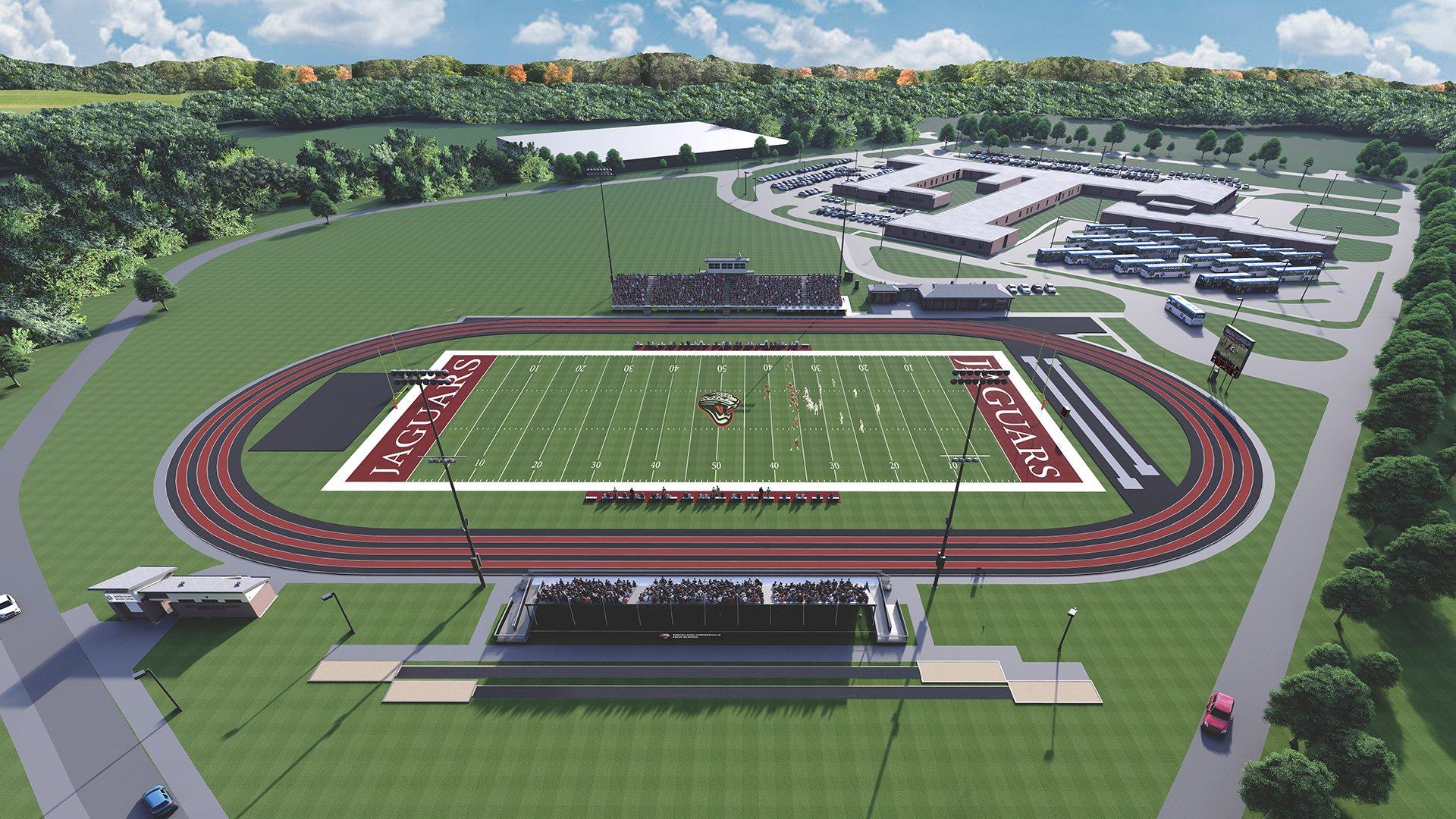 Jasper County Schools Gets New Stadium as Part of Master Plan