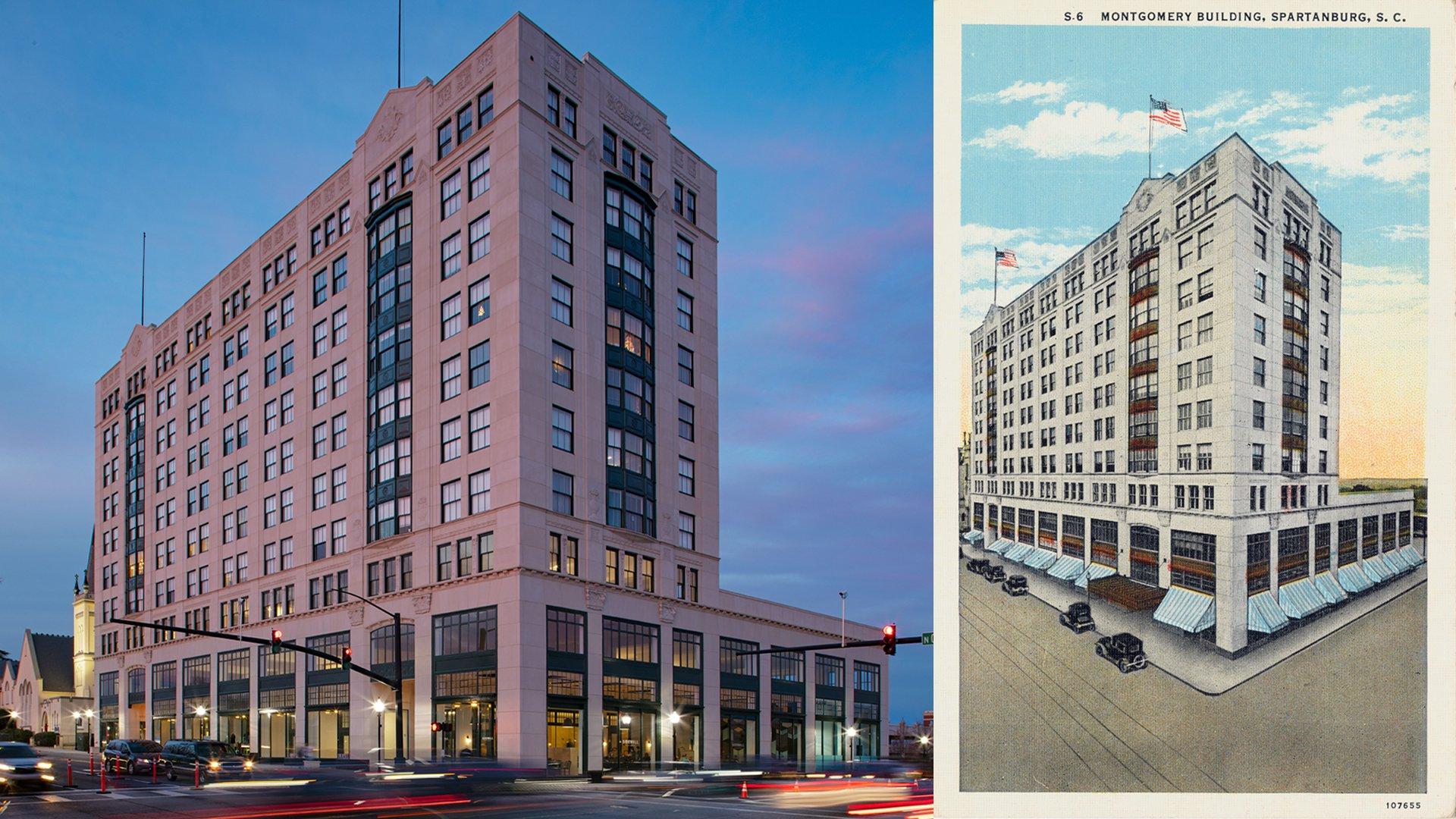 Montgomery Building Restoration Wins SC Preservation Honor Award
