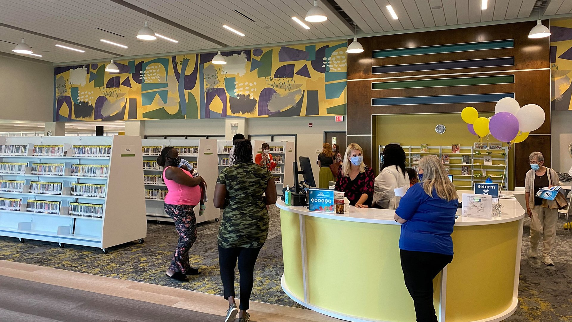 First of Five Renovated Libraries Reopens in Charleston County