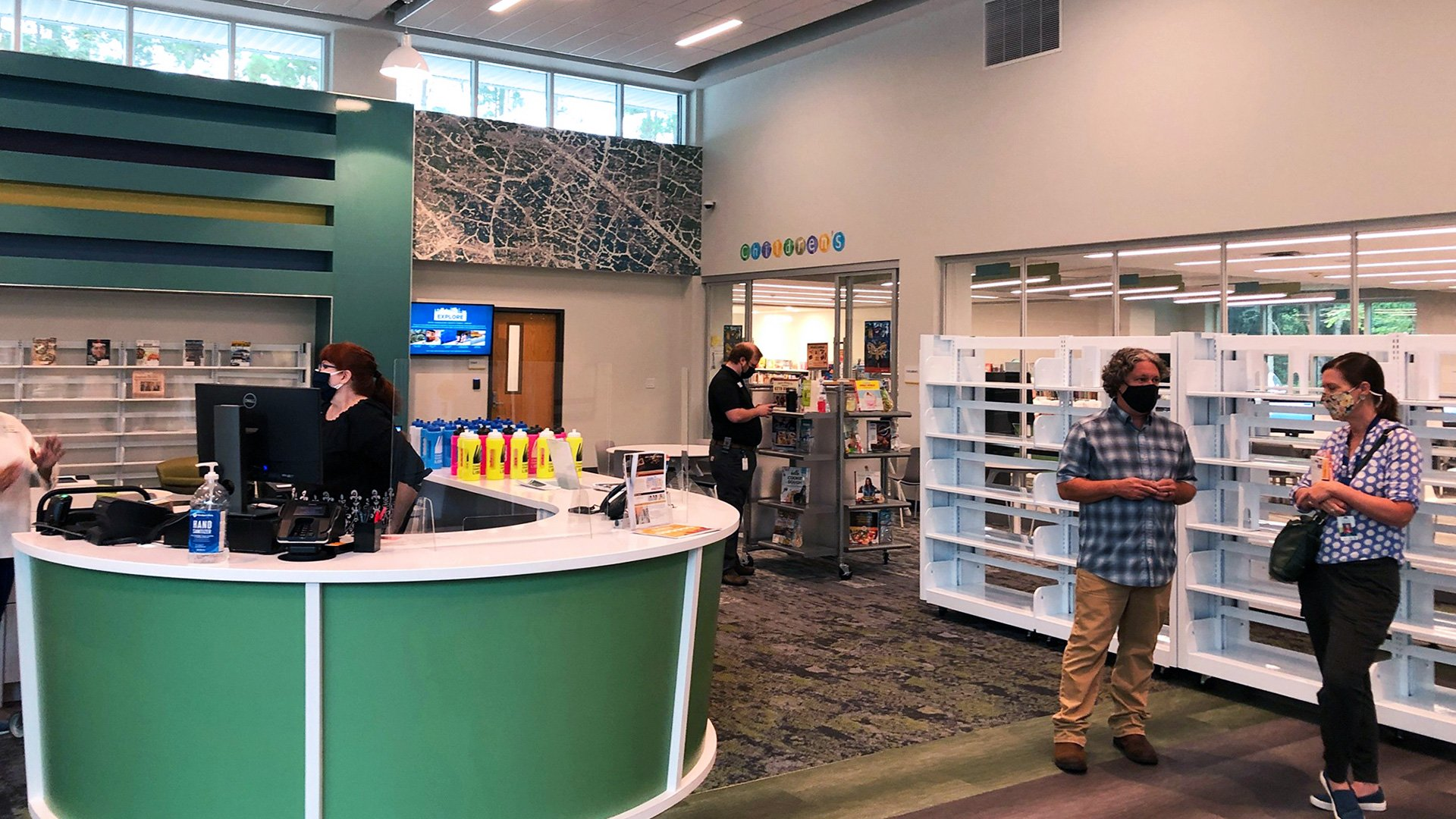 Johns Island Library Reopens, Shows Off Renovations
